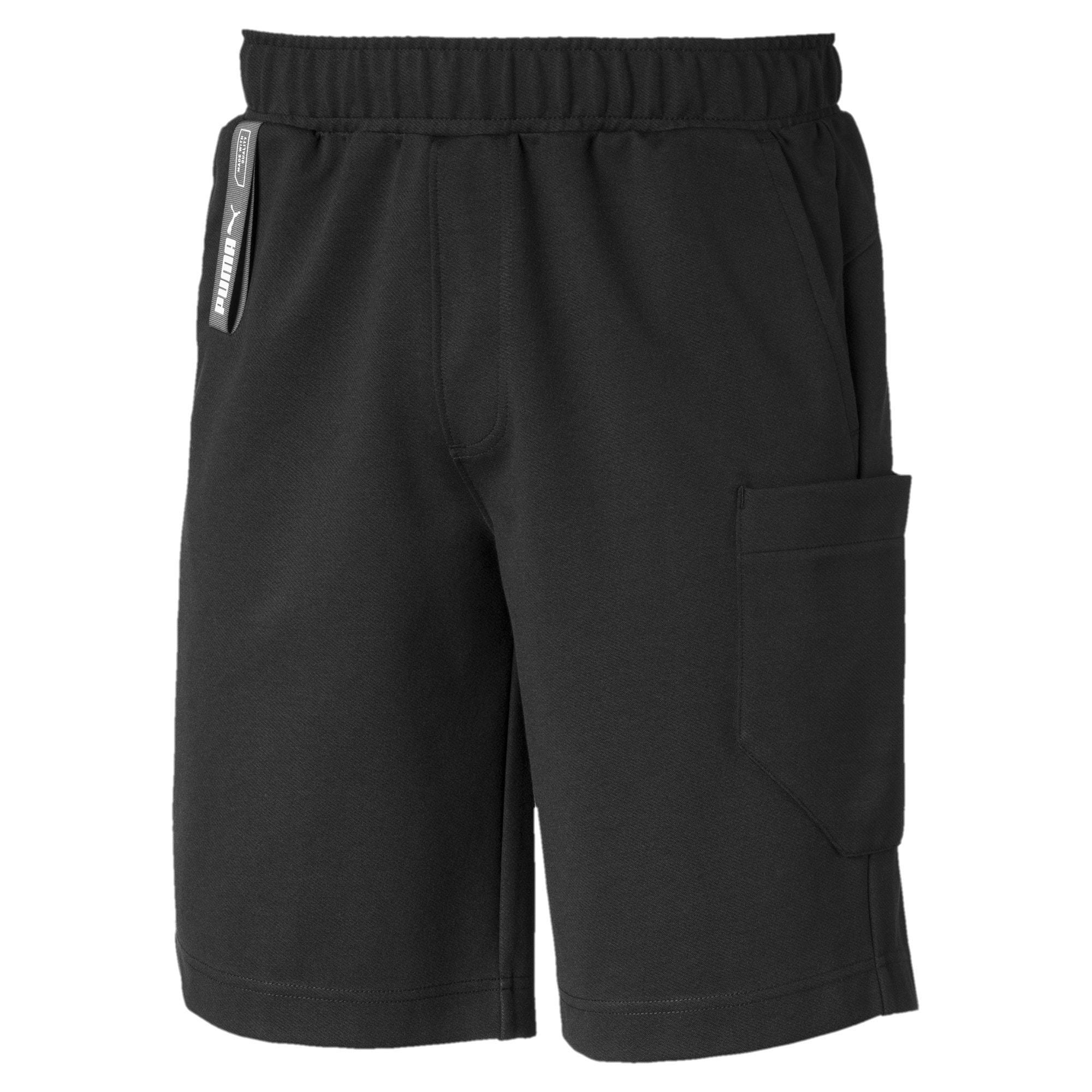 Thumbnail 4 of NU-TILITY Men's Shorts, Puma Black, medium-IND