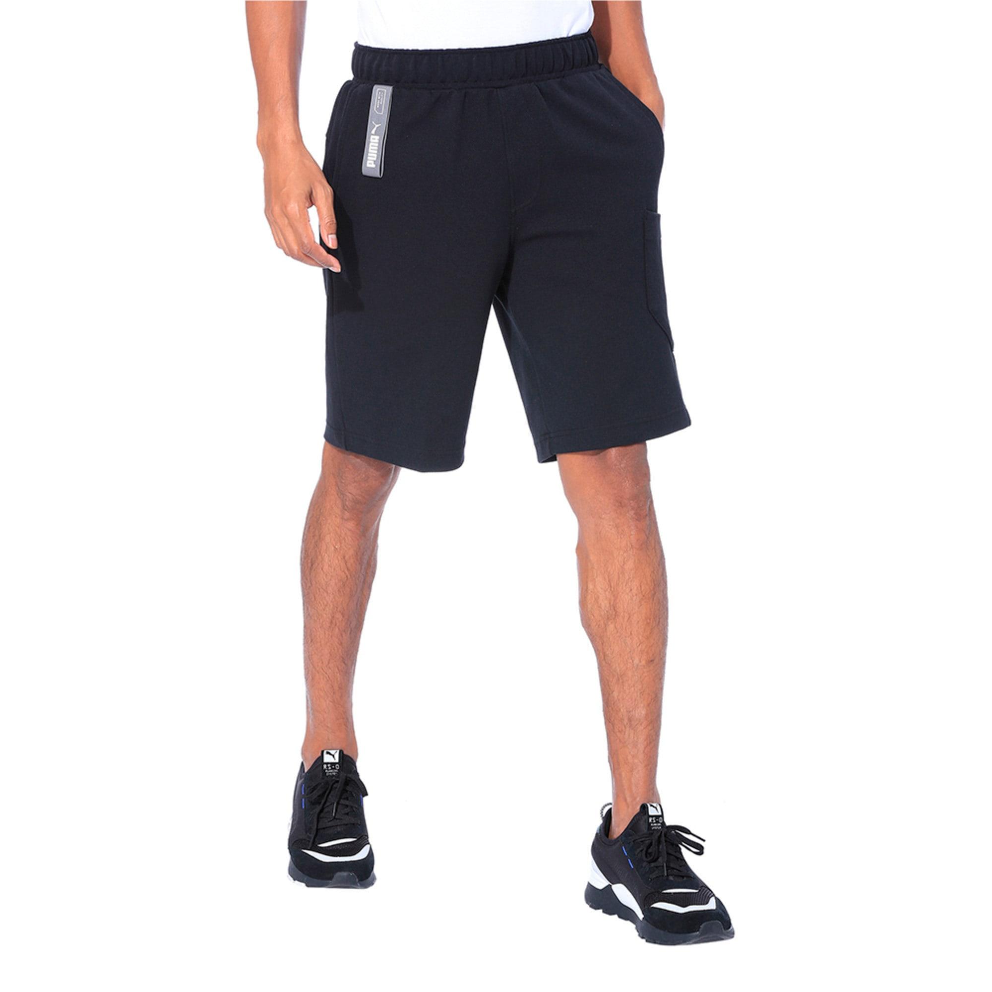 Thumbnail 1 of NU-TILITY Men's Shorts, Puma Black, medium-IND