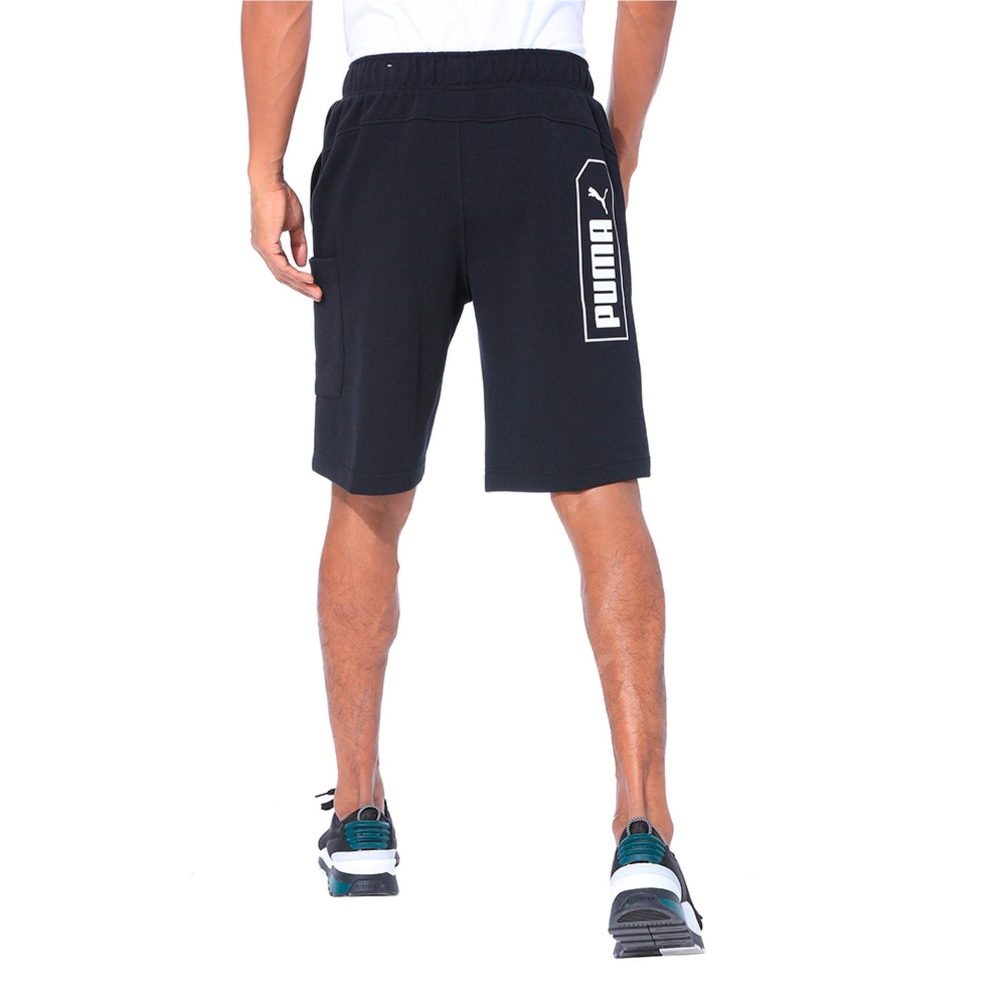 Thumbnail 2 of NU-TILITY Men's Shorts, Puma Black, medium-IND