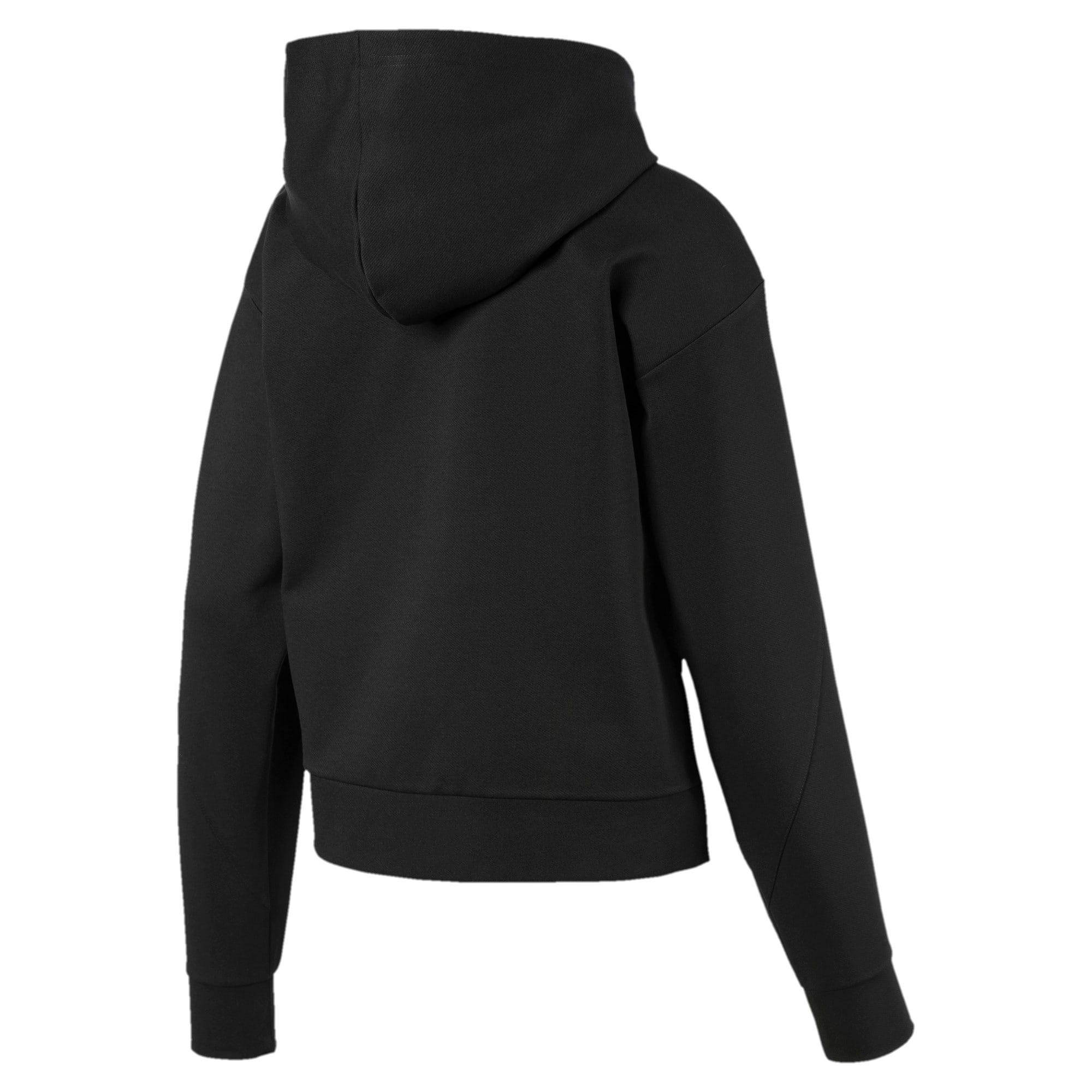 Thumbnail 5 of NU-TILITY Full Zip Women's Hoodie, Puma Black, medium