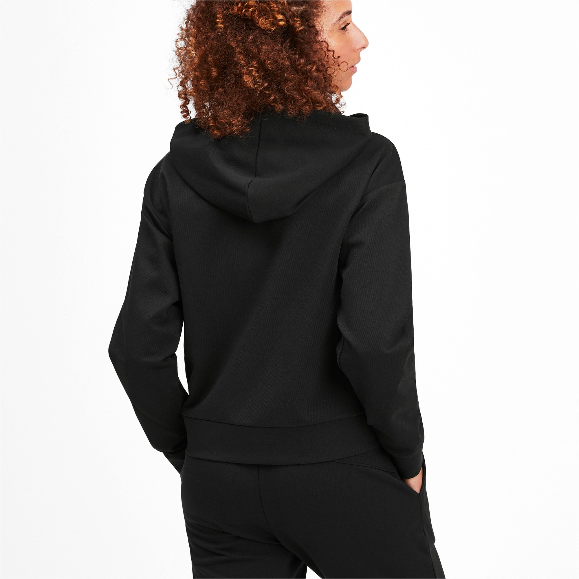 Thumbnail 2 of NU-TILITY Full Zip Women's Hoodie, Puma Black, medium
