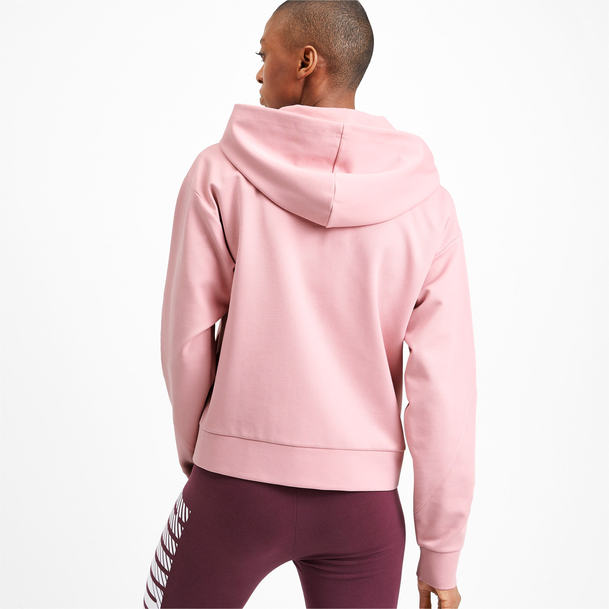 Thumbnail 2 of Blouson en sweat à capuche NU-TILITY pour femme, Bridal Rose, medium