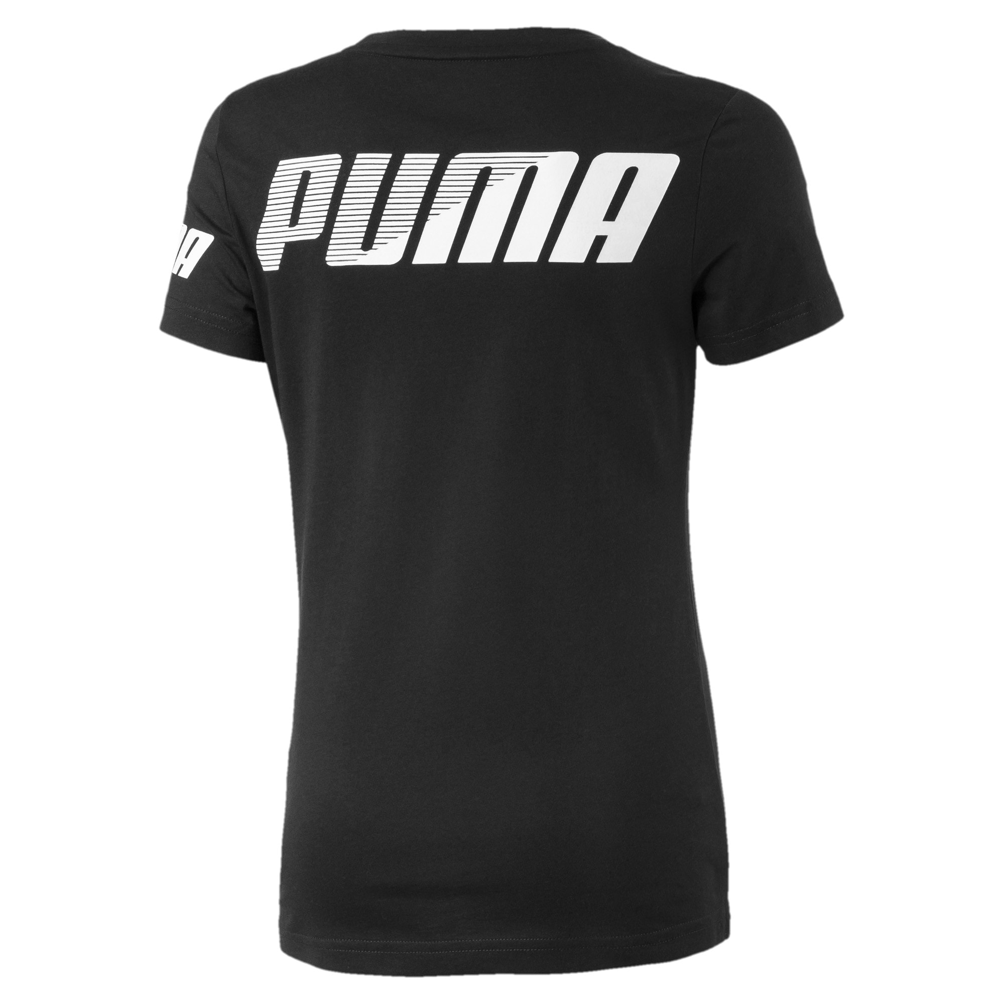 Thumbnail 2 of Modern Sports Mädchen T-Shirt, Puma Black, medium