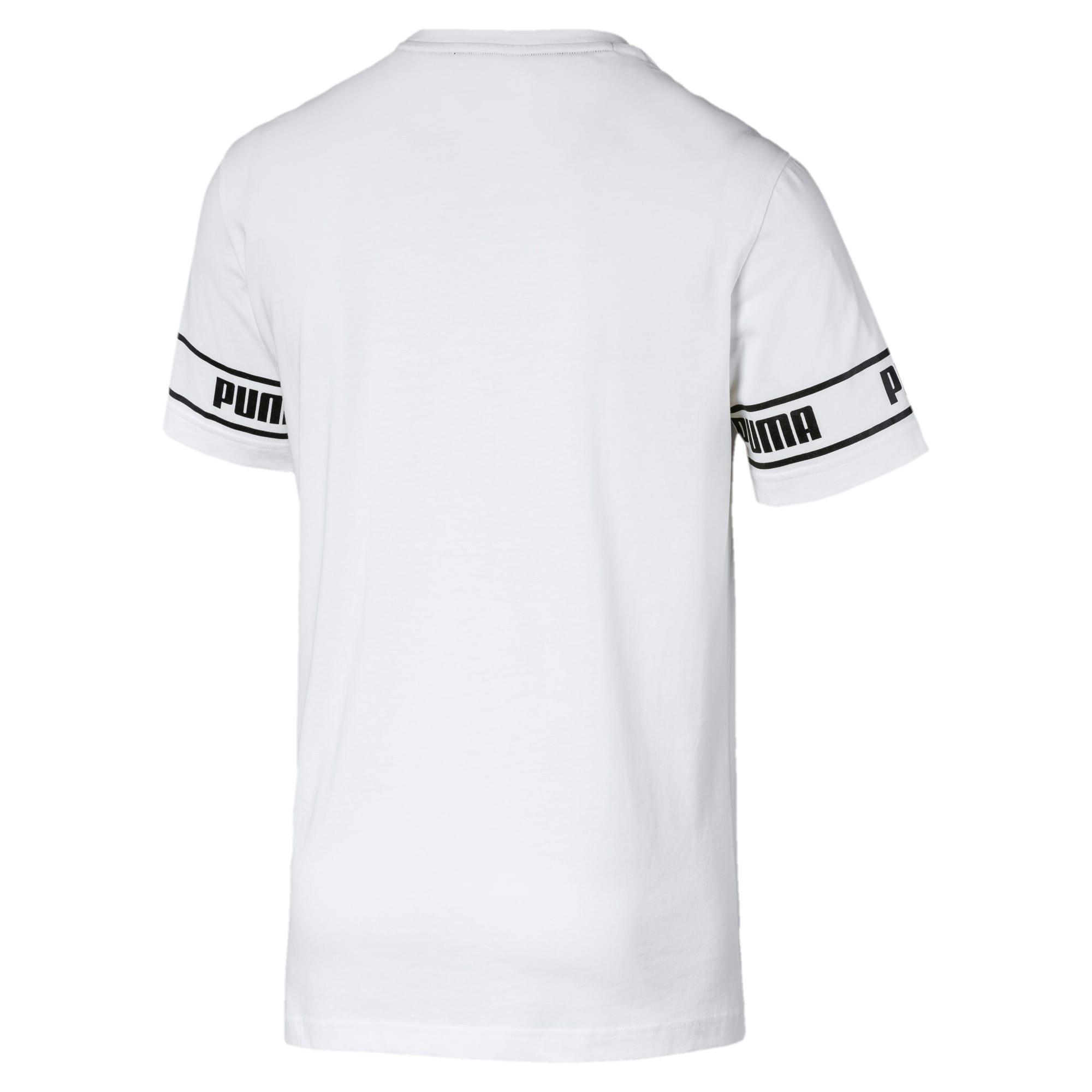 Thumbnail 5 of Amplified Men's Big Logo Tee, Puma White, medium
