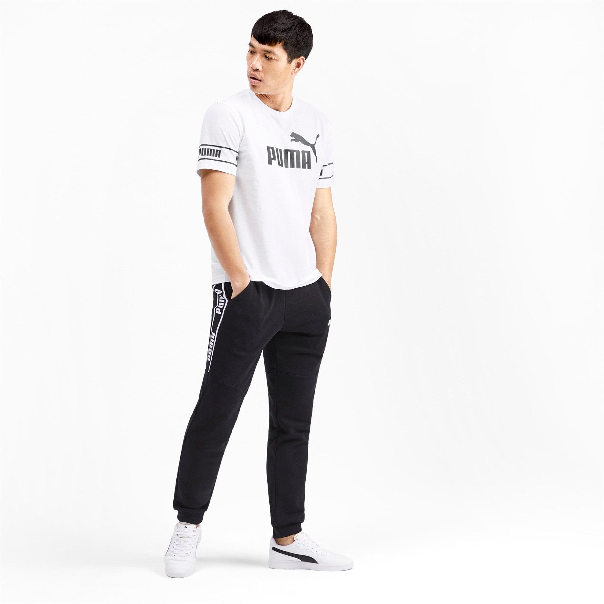 Miniaturka 3 Męska koszulka Amplified, Puma White, średnie
