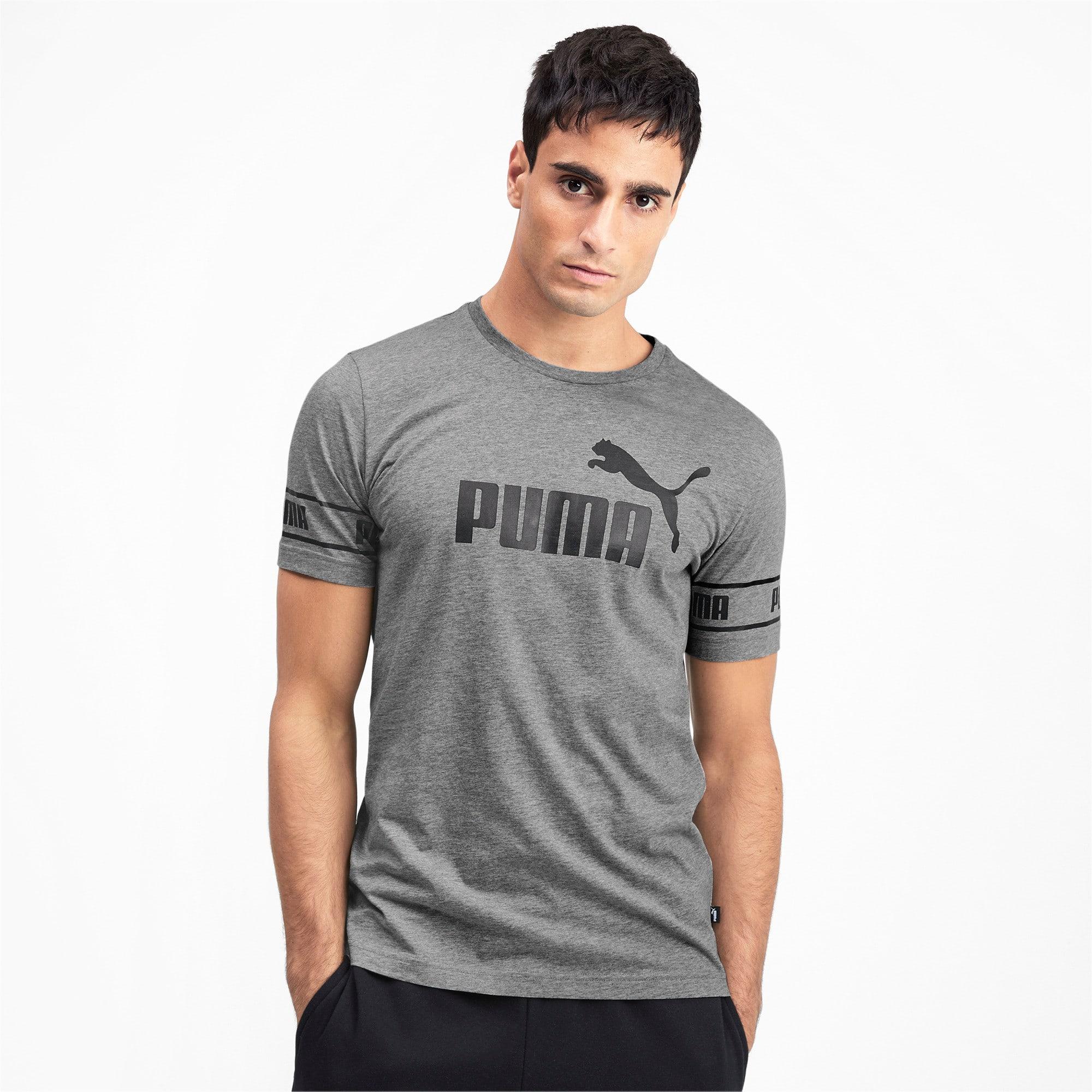 Thumbnail 1 of Meska koszulka Amplified, Medium Gray Heather, medium