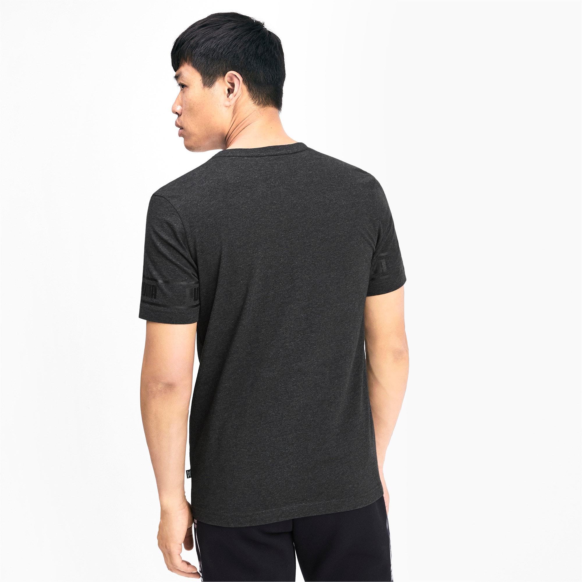 Miniaturka 2 Męska koszulka Amplified, Dark Gray Heather, średnie