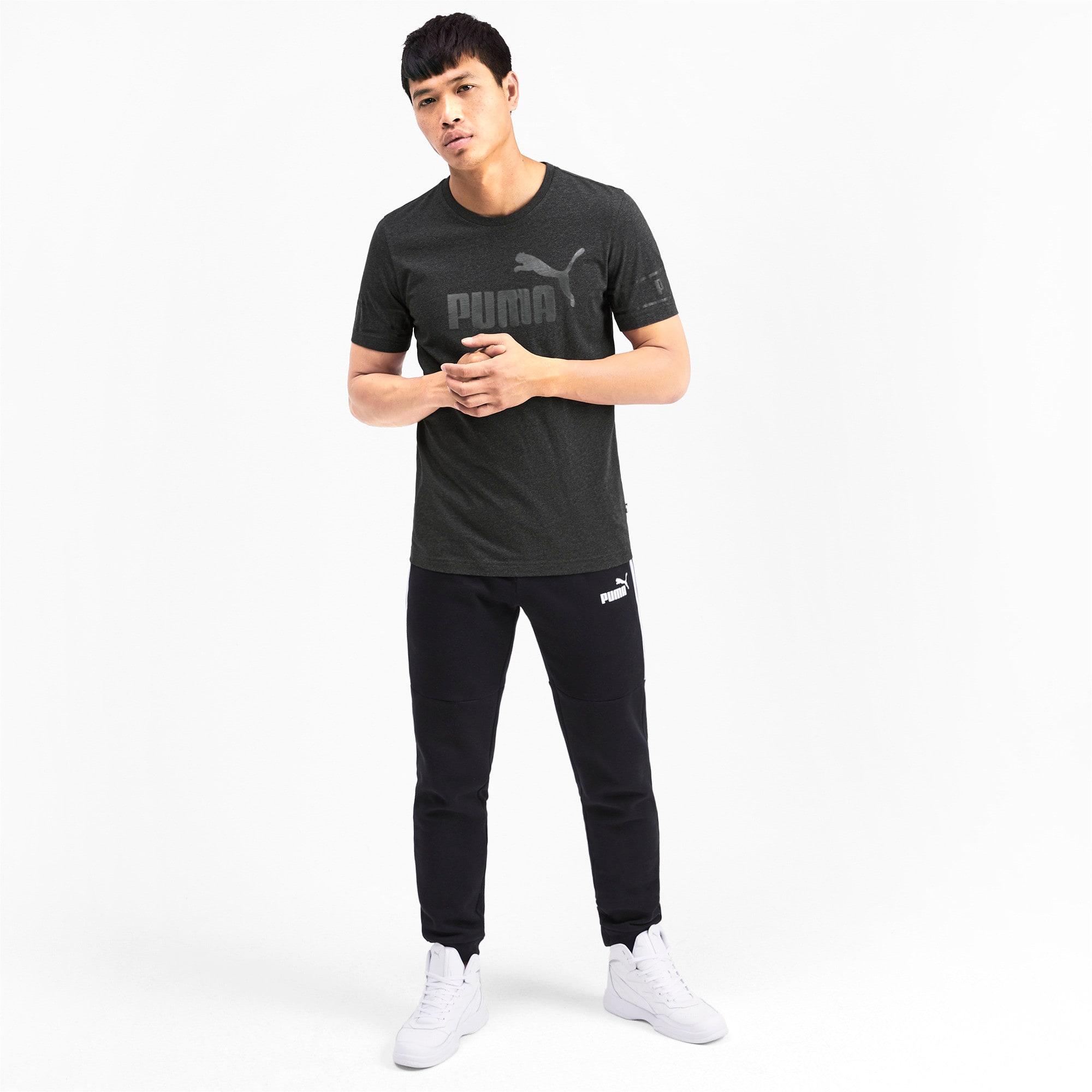 Miniaturka 3 Męska koszulka Amplified, Dark Gray Heather, średnie