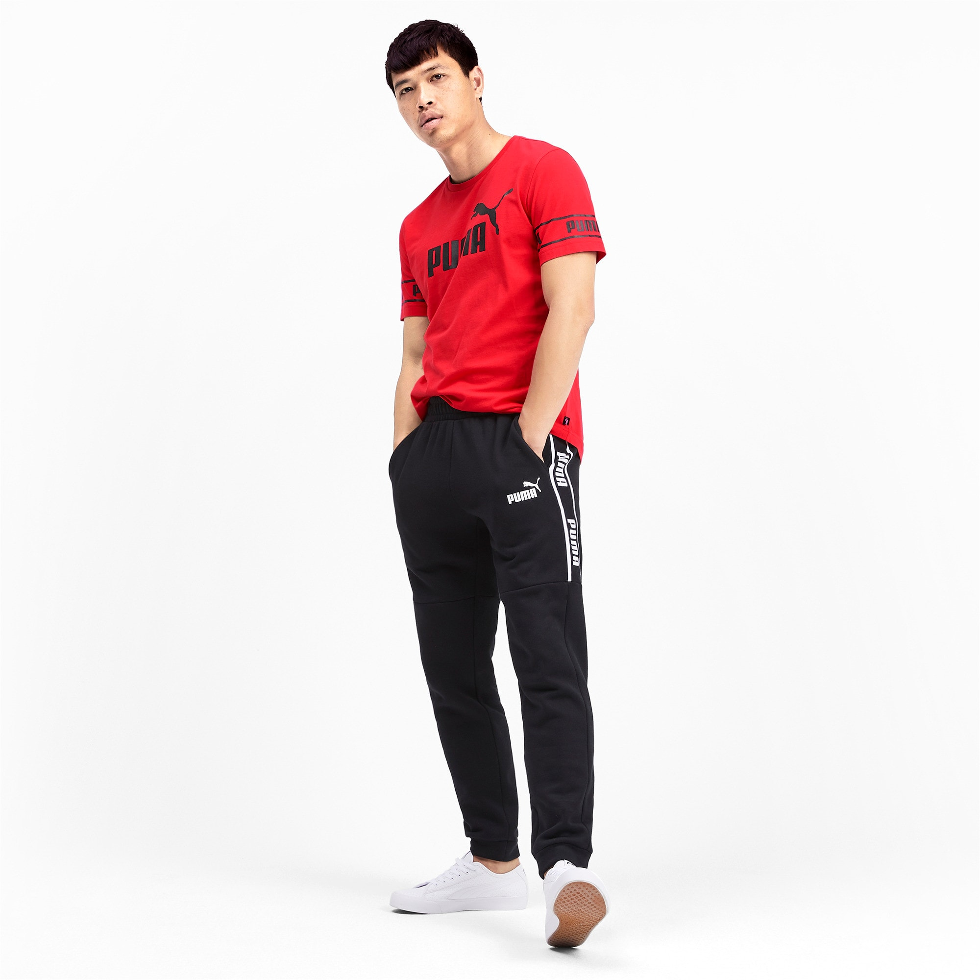 Miniaturka 3 Męska koszulka Amplified, High Risk Red, średnie