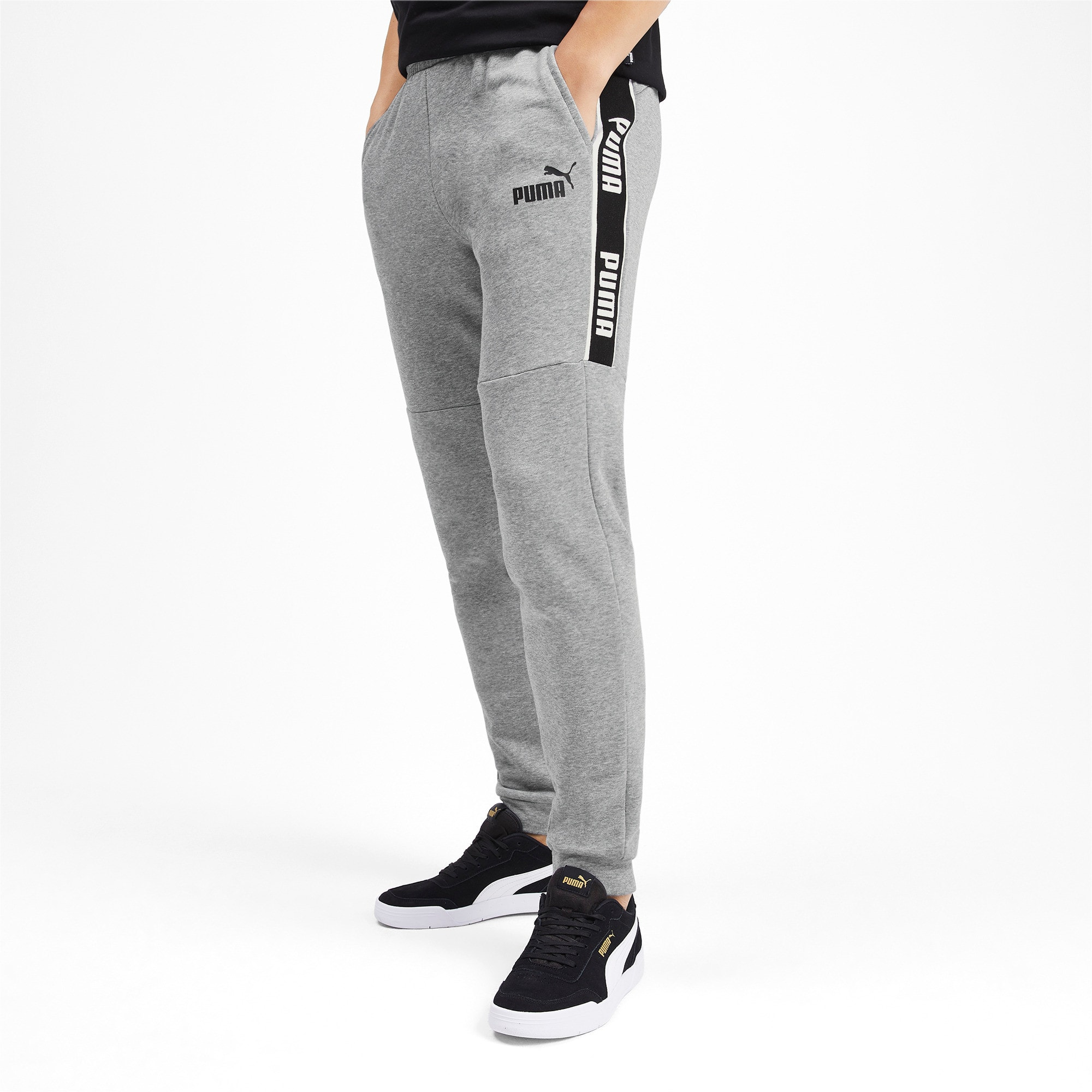 Thumbnail 1 of Amplified Herren Sweatpants, Medium Gray Heather, medium