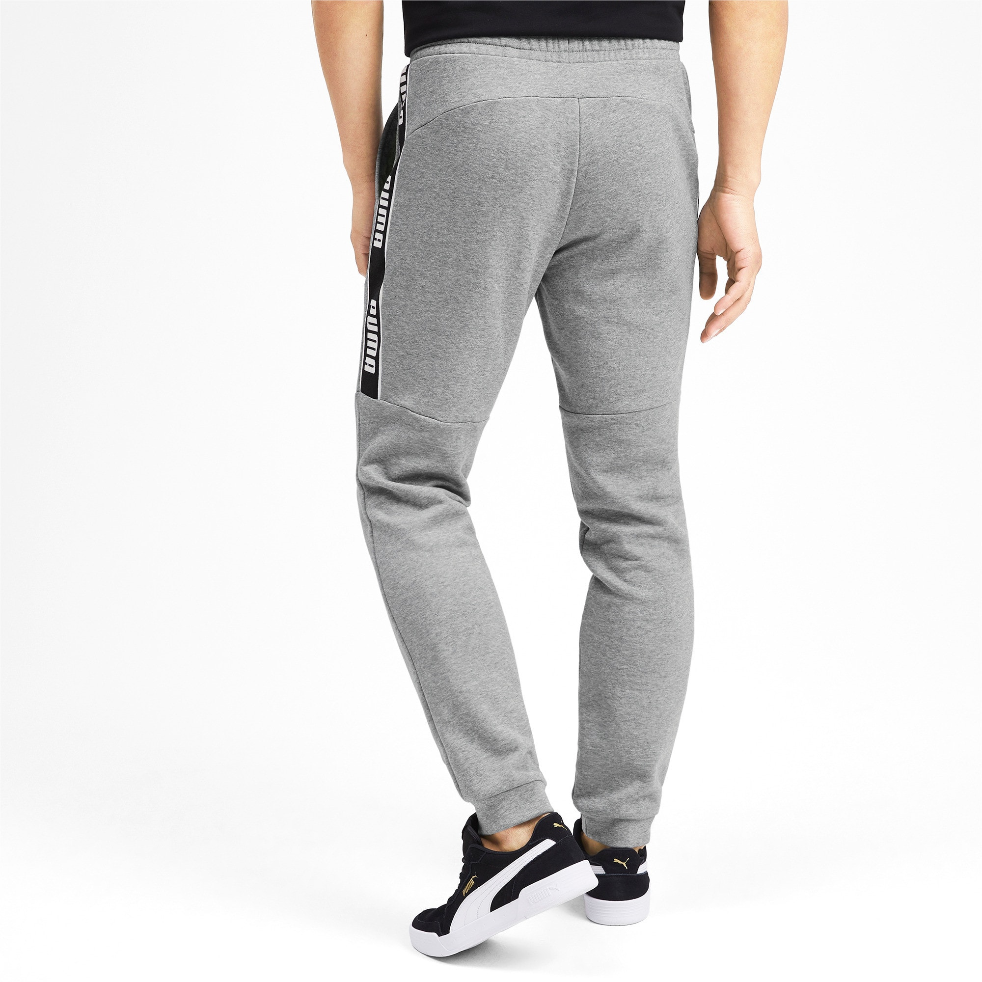 Thumbnail 2 of Amplified Herren Sweatpants, Medium Gray Heather, medium