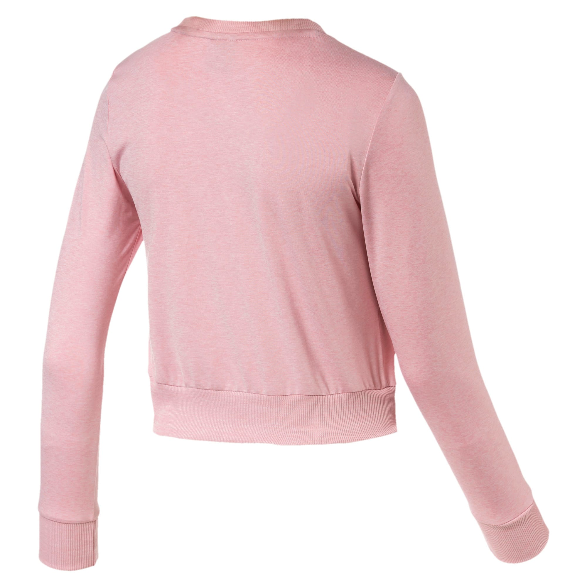 Thumbnail 5 of Soft Sports Long Sleeve Women's Tee, Bridal Rose Heather, medium-IND