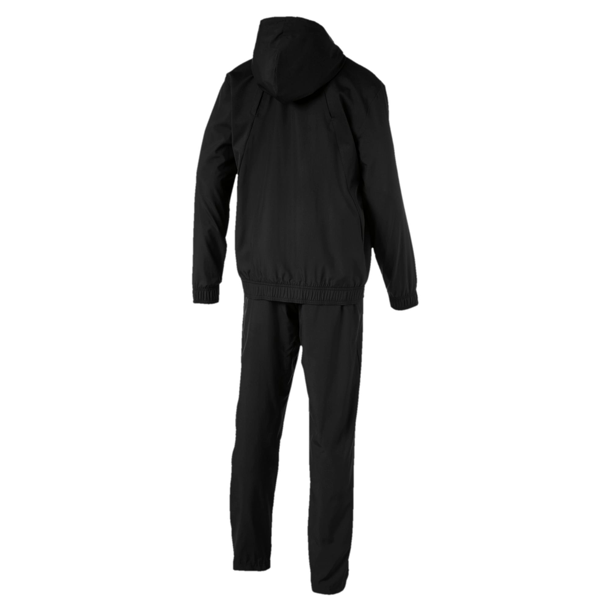 Thumbnail 5 of Modern Sport Hooded Men's Sweat Suit, Puma Black, medium-IND