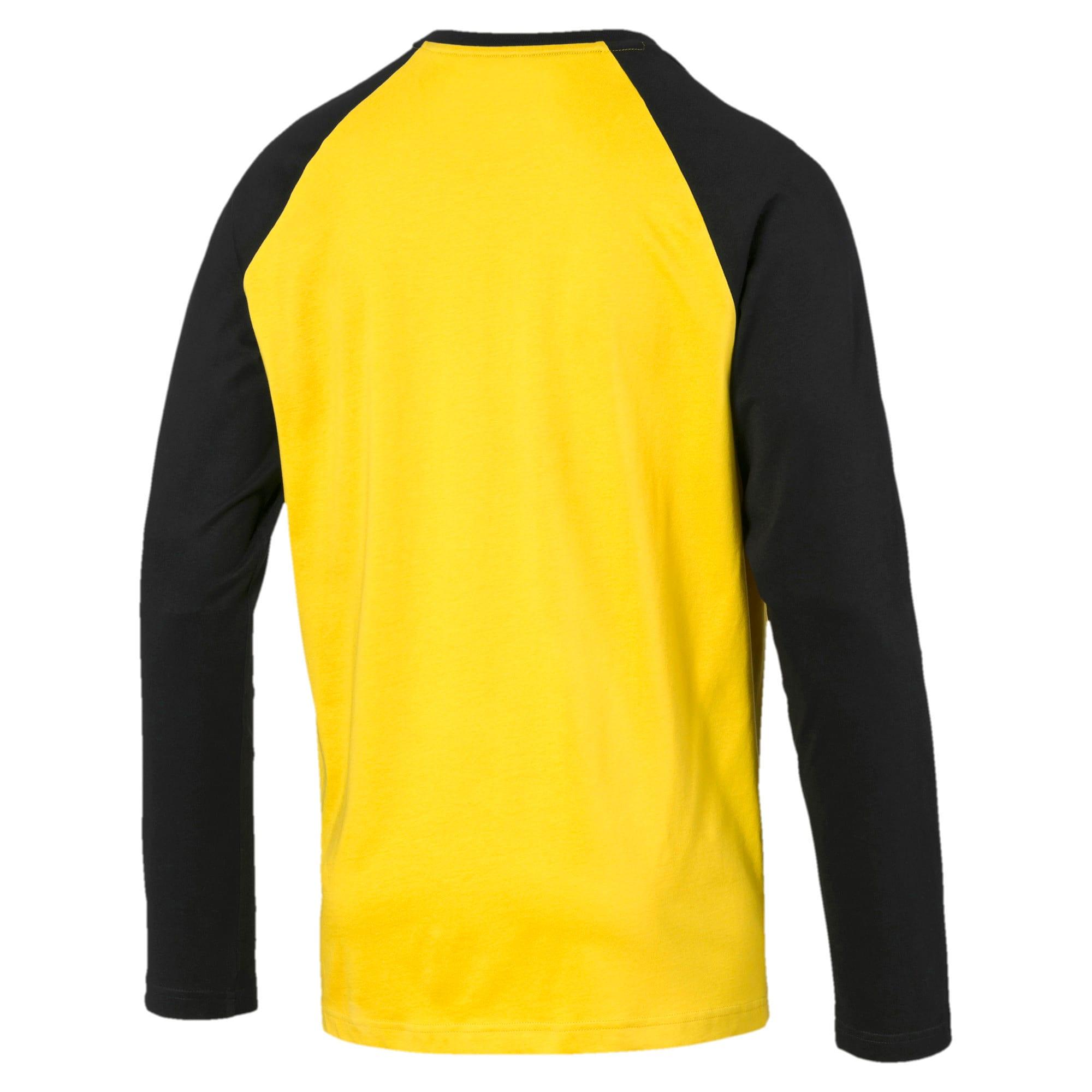 Thumbnail 5 of Modern Sports Long Sleeve Men's Tee, Sulphur, medium-IND