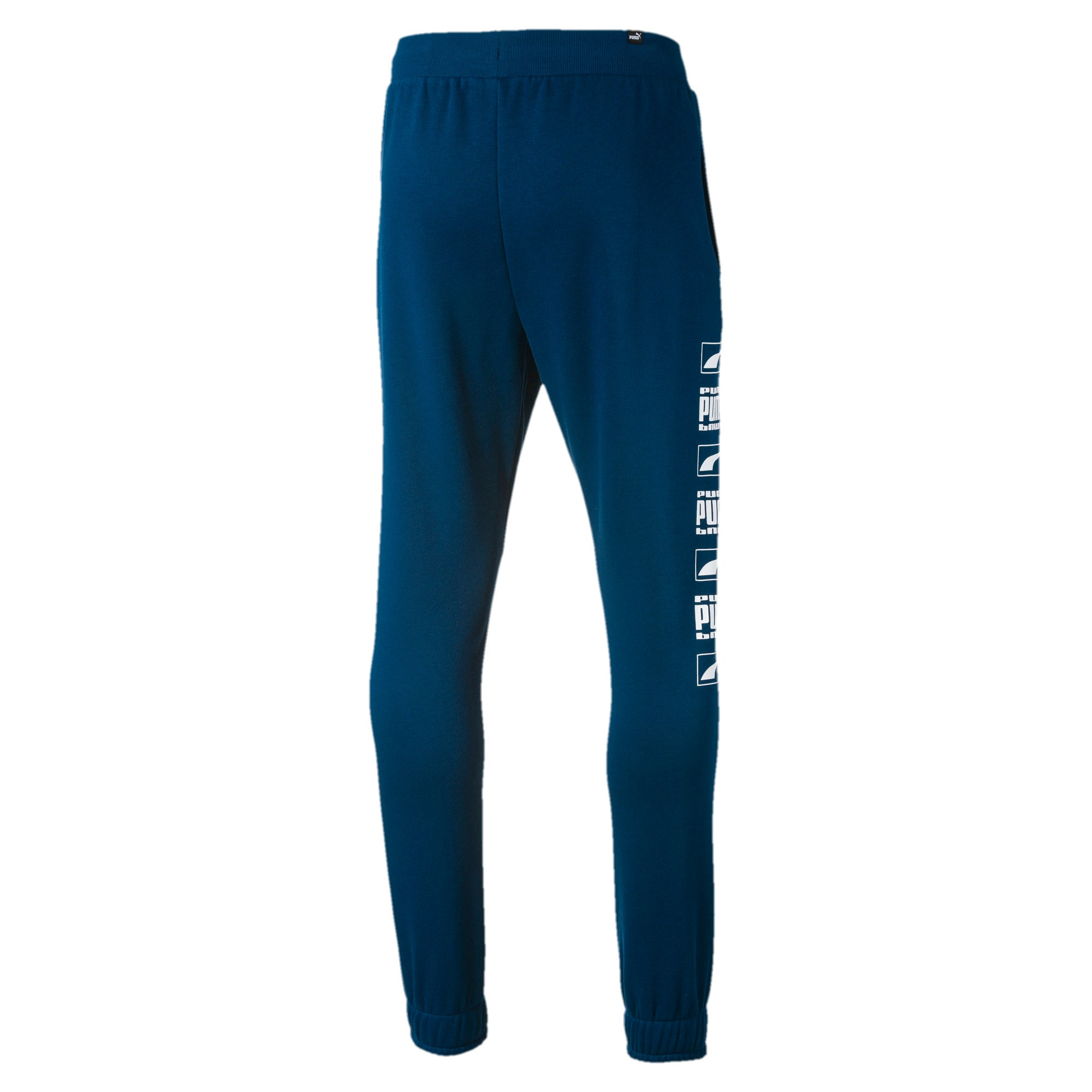 Thumbnail 5 of Rebel Bold Full Length Men's Sweatpants, Gibraltar Sea, medium-IND