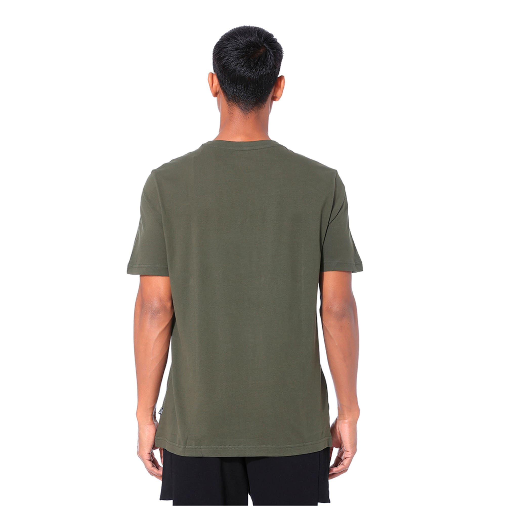 Thumbnail 2 of Rebel Camo Filled Men's Tee, Forest Night, medium-IND