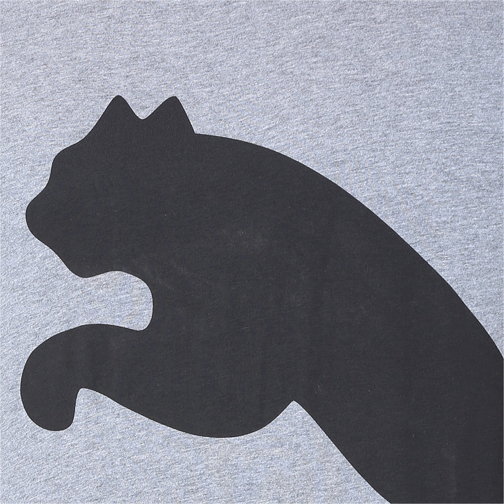 Thumbnail 6 of Big Logo Graphic Short Sleeve Men's Tee, Medium Gray Heather, medium-IND