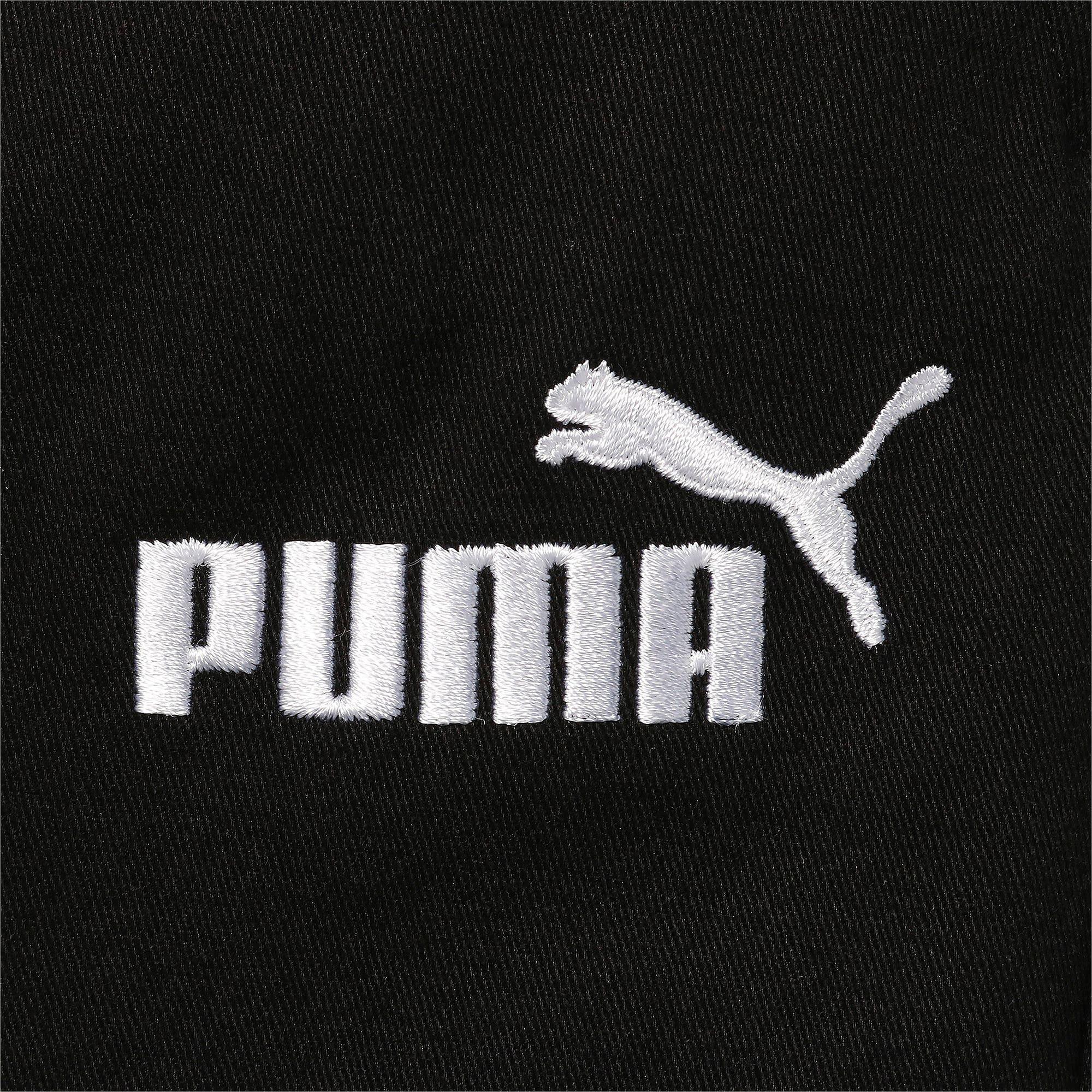 Thumbnail 4 of キッズ ESS ウーブン パンツ, Puma Black, medium-JPN