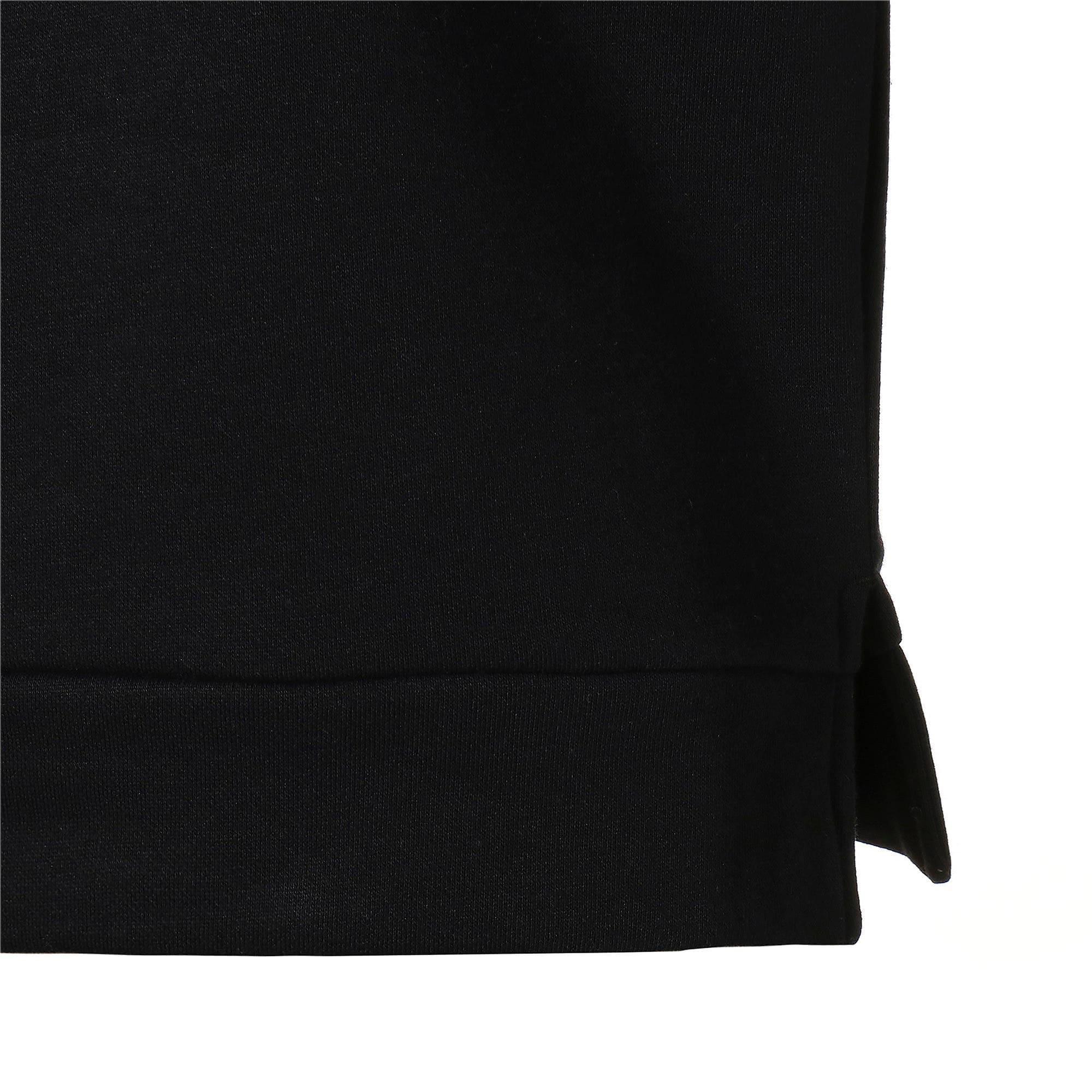 Thumbnail 6 of キッズ アルファ グラフィック クルー スウェット FL, Puma Black, medium-JPN