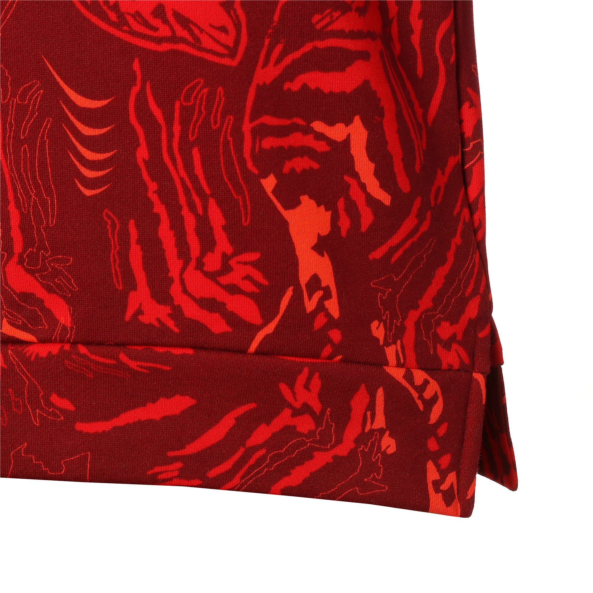 Thumbnail 6 of キッズ アルファ AOP クルースウェット FL, High Risk Red, medium-JPN