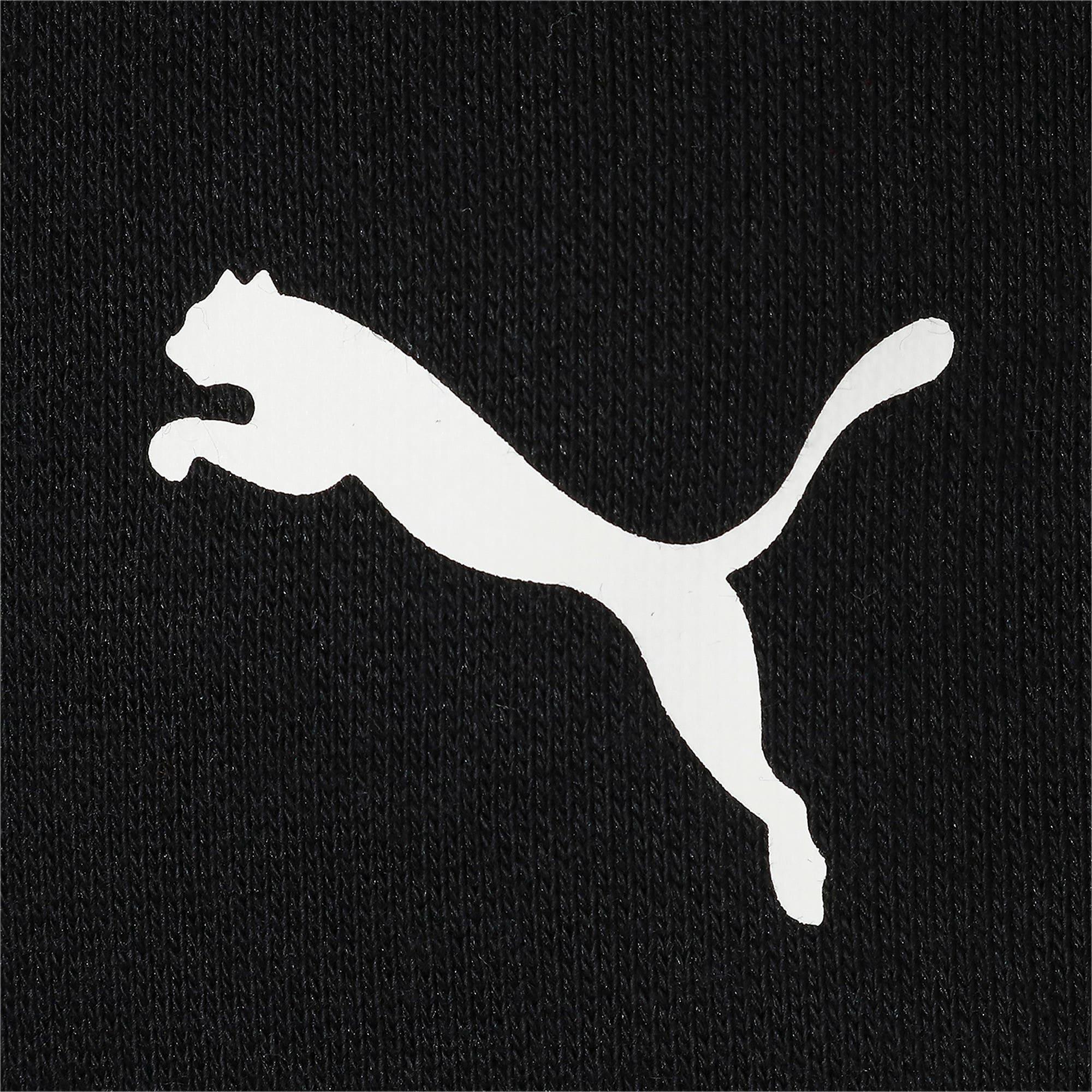 Thumbnail 4 of キッズ アルファ グラフィック フルジップ FL, Puma Black, medium-JPN