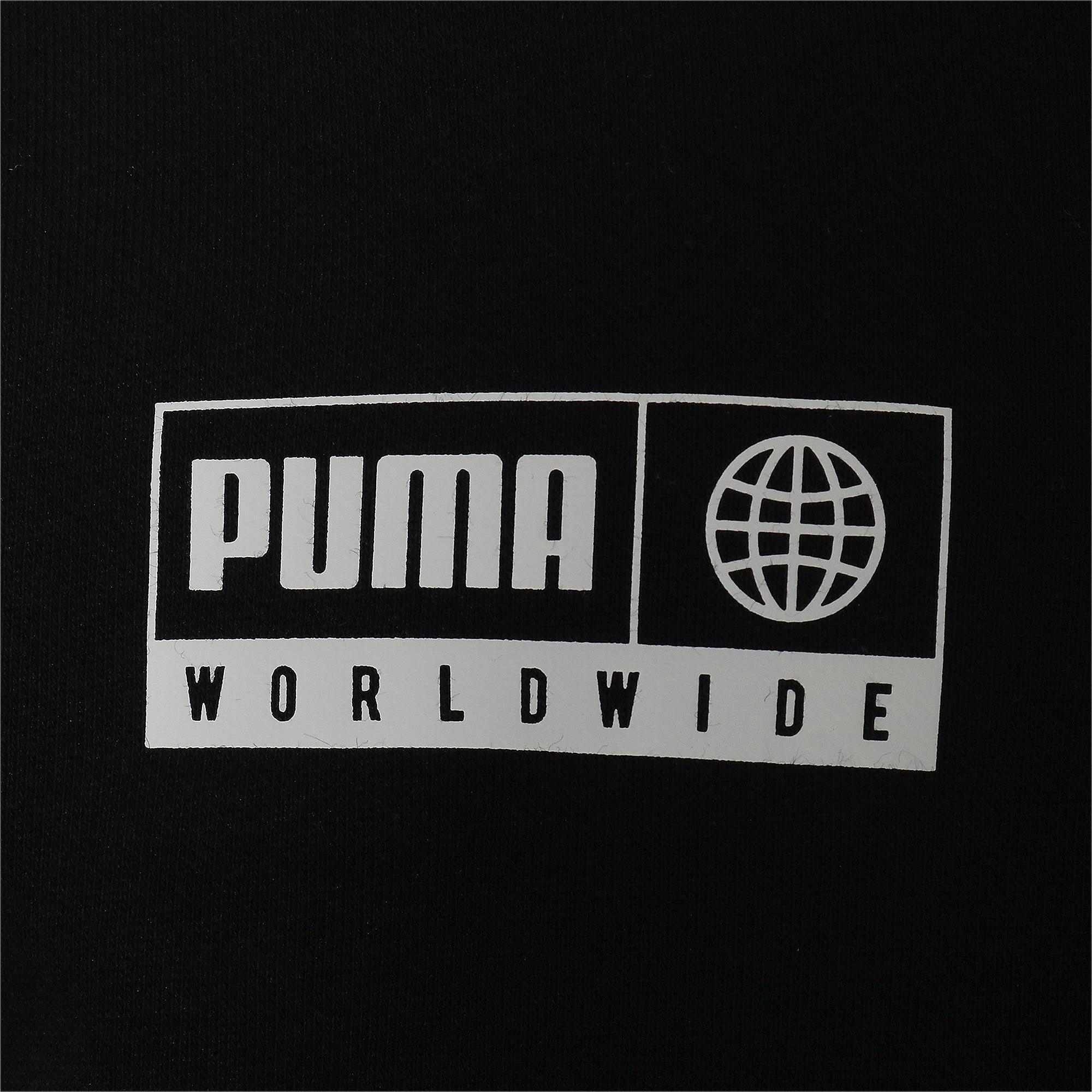 Thumbnail 8 of キッズ アルファ グラフィック フルジップ FL, Puma Black, medium-JPN