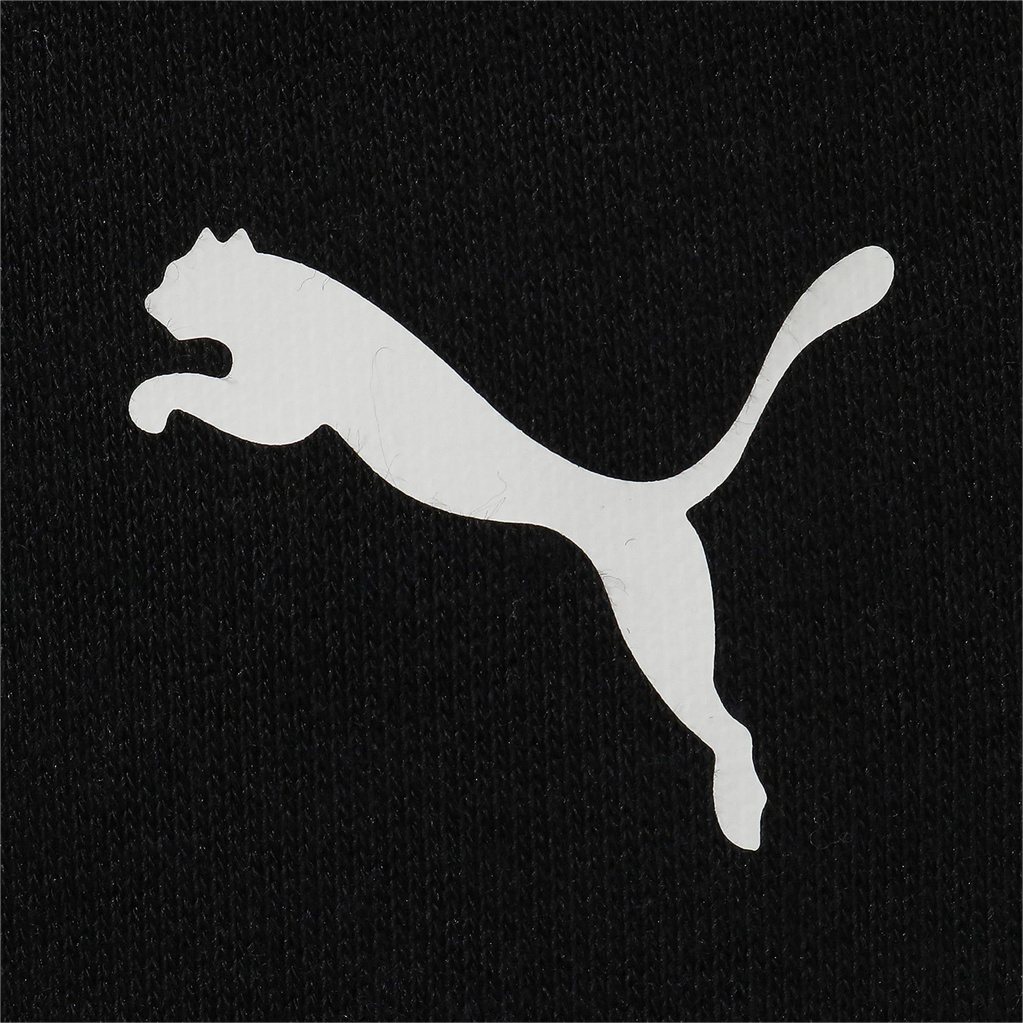 Thumbnail 4 of キッズ アルファ スウェット パンツ FL, Puma Black, medium-JPN