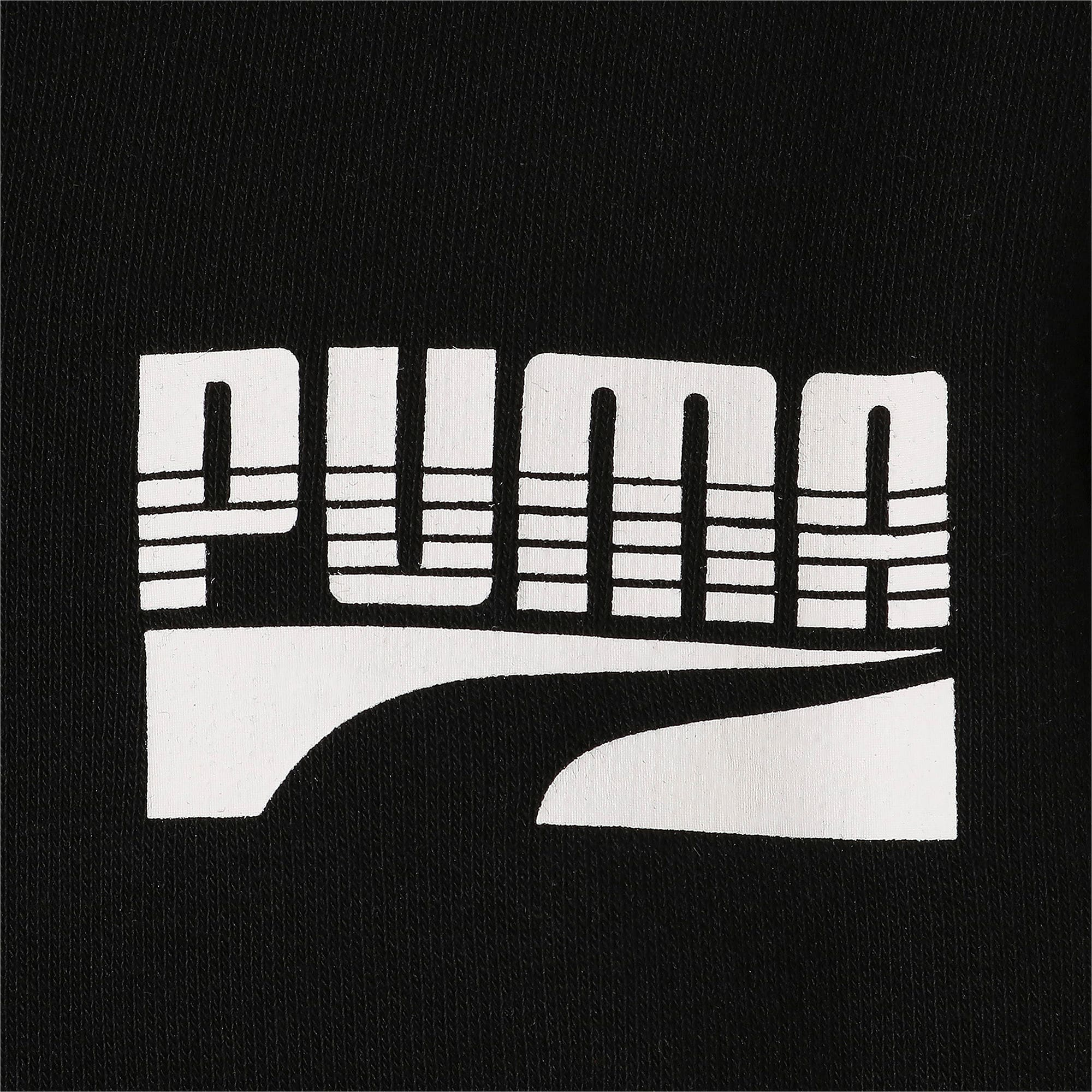 Thumbnail 8 of キッズ REBEL ボールド フルジップTR, Puma Black, medium-JPN