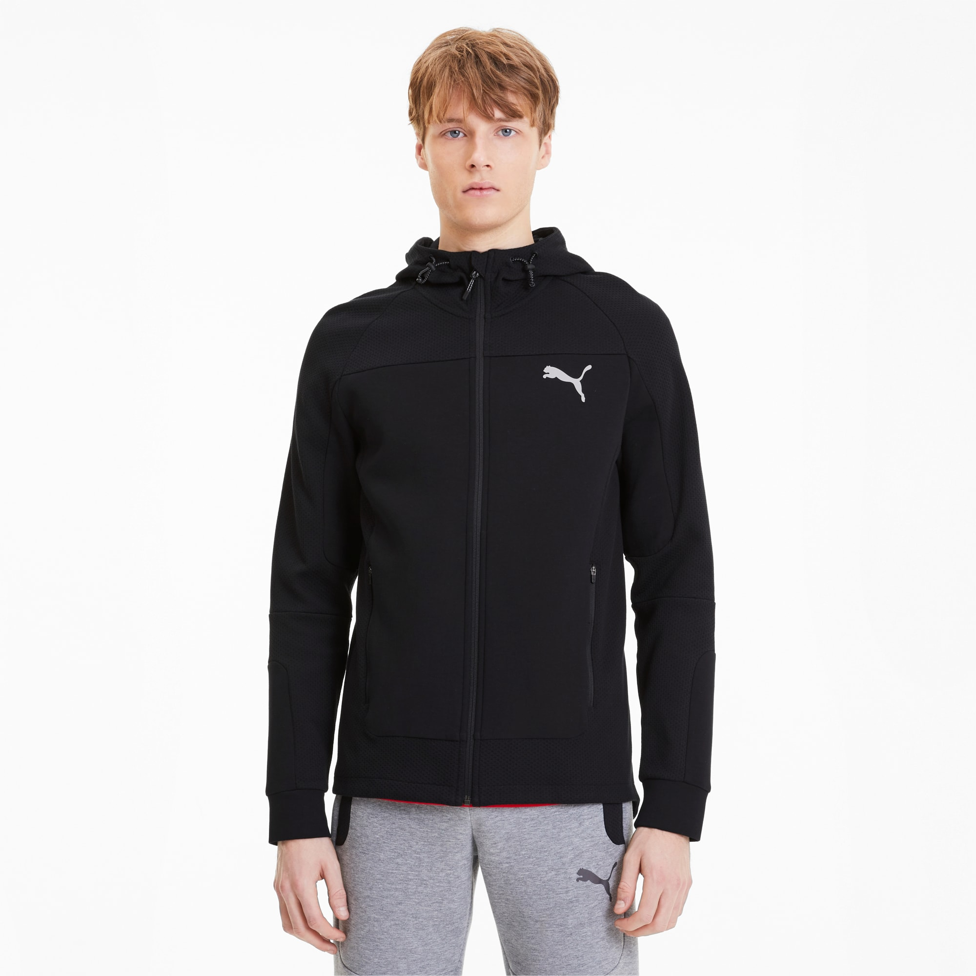 Evostripe Men's Hooded Jacket