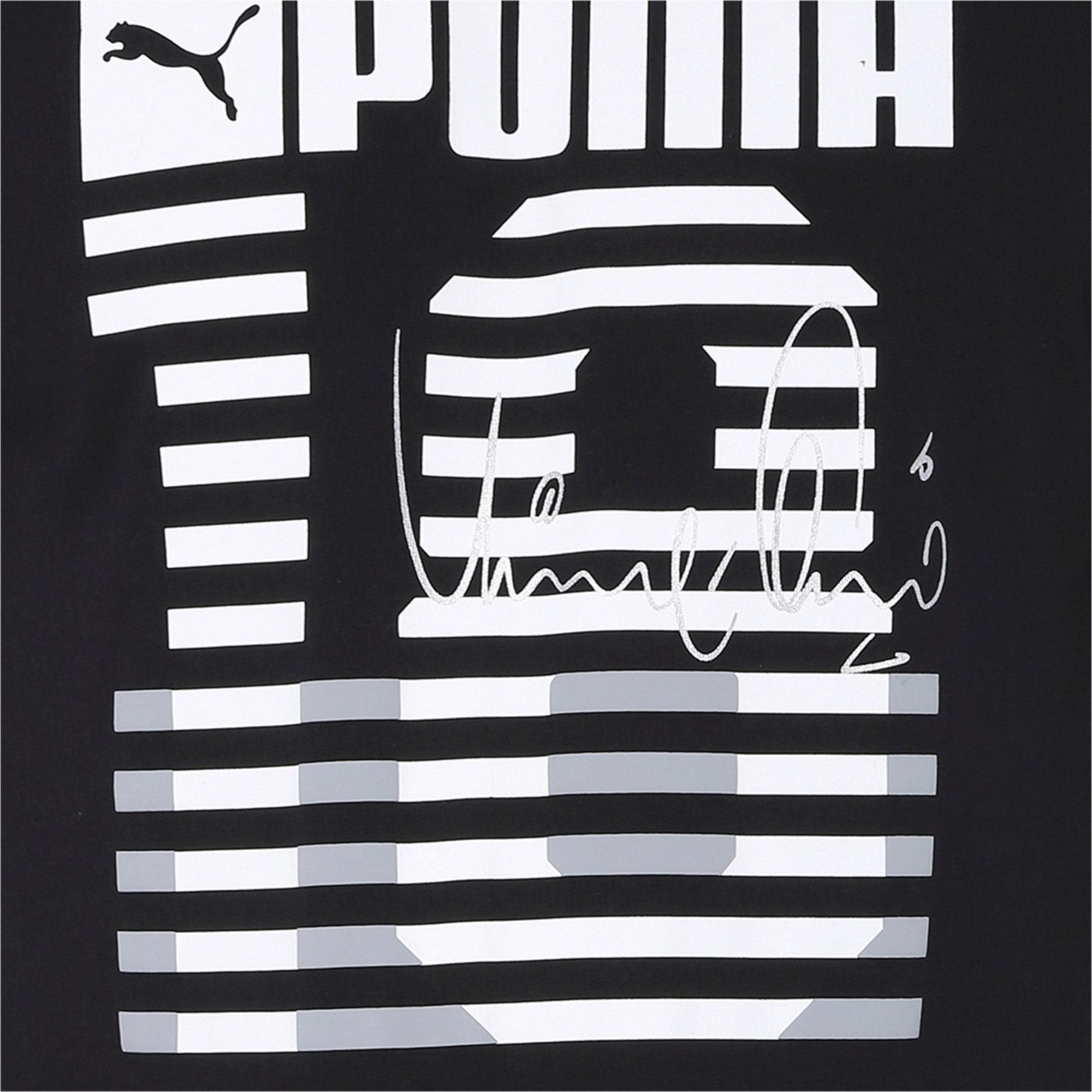 Thumbnail 6 of one8 Men's Graphic Tee, Puma Black, medium-IND