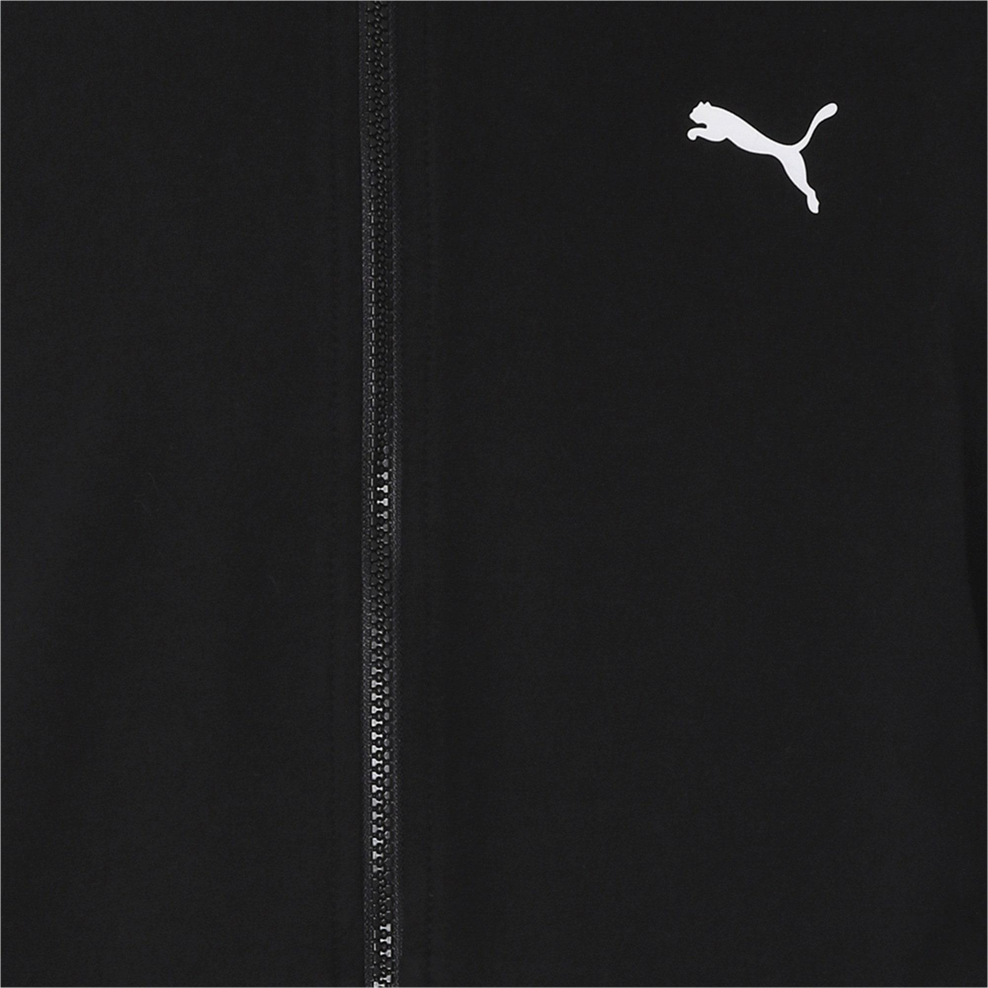 Thumbnail 6 of one8 Men's Knitted Track Jacket, Puma Black, medium-IND