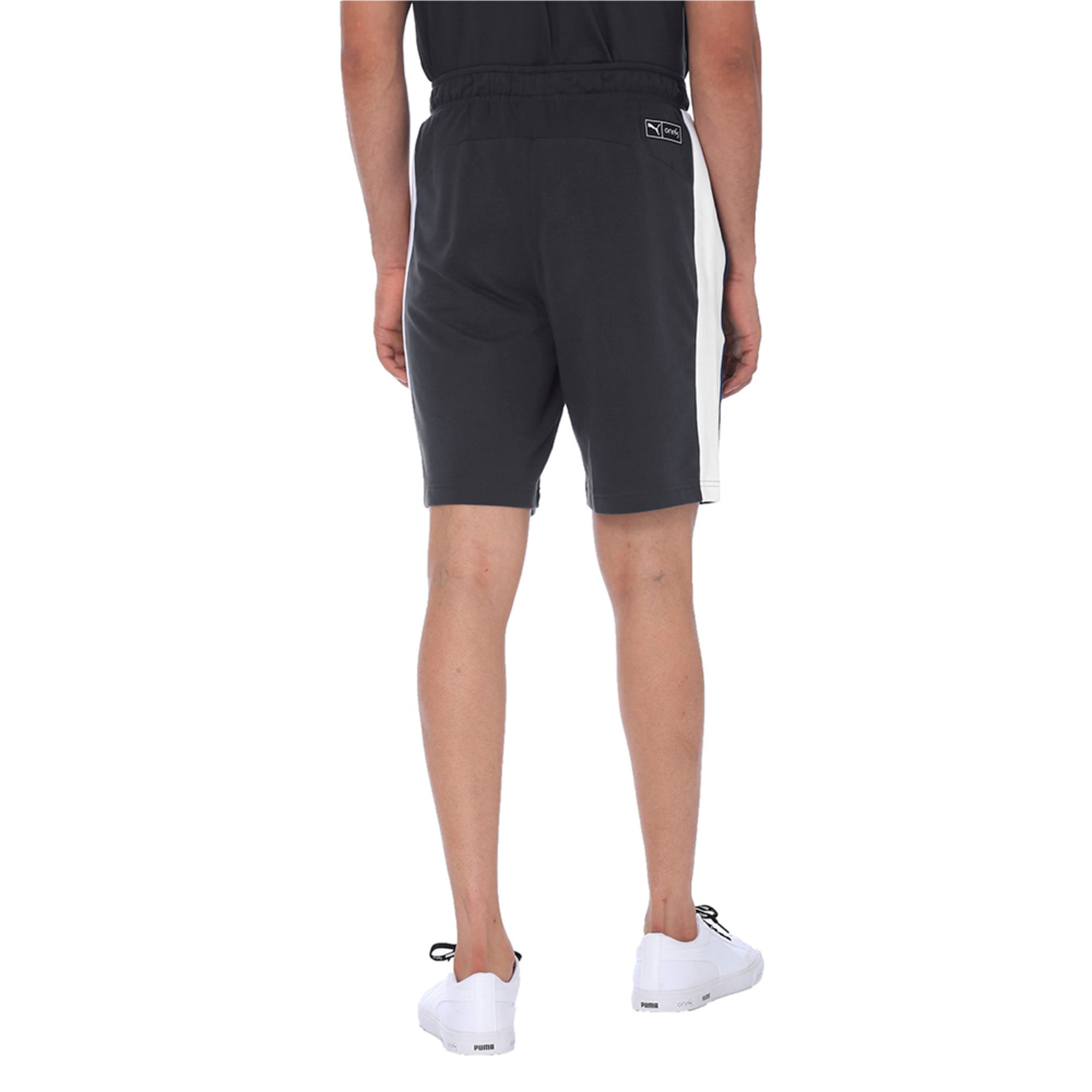 Thumbnail 5 of one8 Men's Knitted Shorts, Dark Gray Heather, medium-IND
