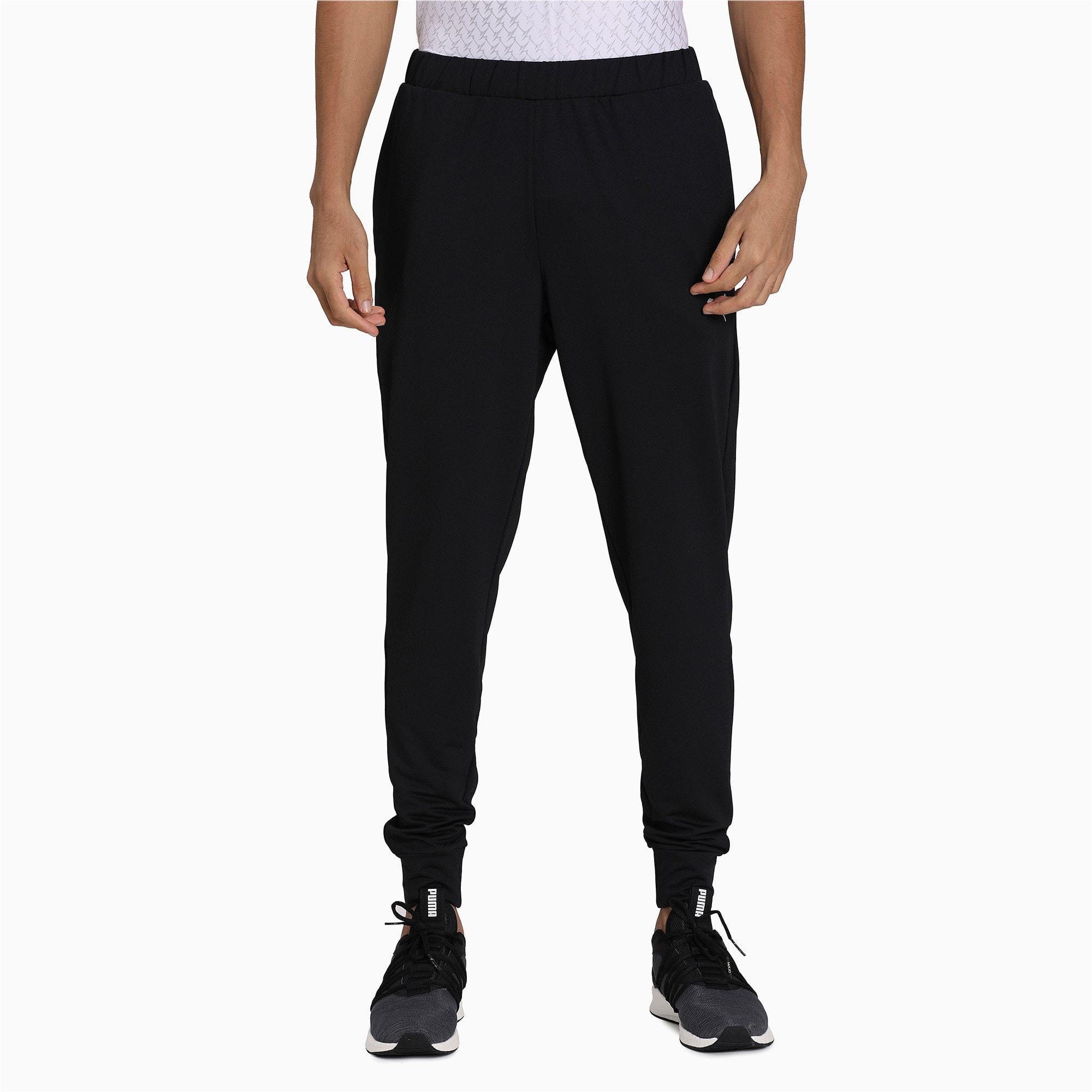 Thumbnail 3 of one8 Men's Active Pants, Puma Black, medium-IND