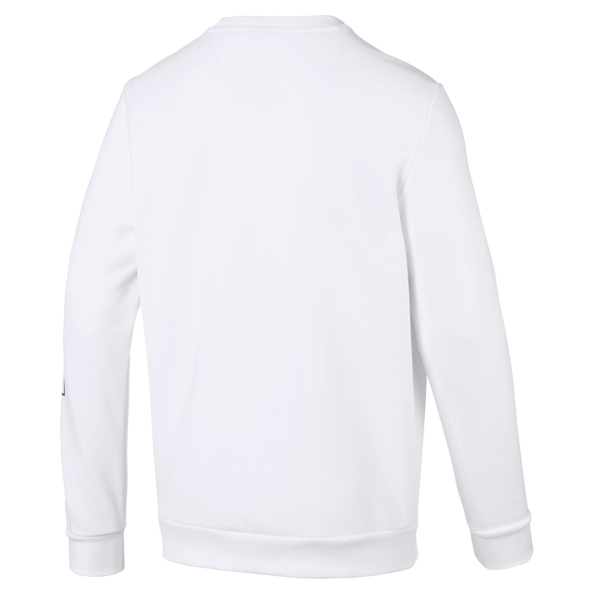 Thumbnail 2 of Holiday Pack Long Sleeve Men's Sweat Pullover, Puma White, medium-IND