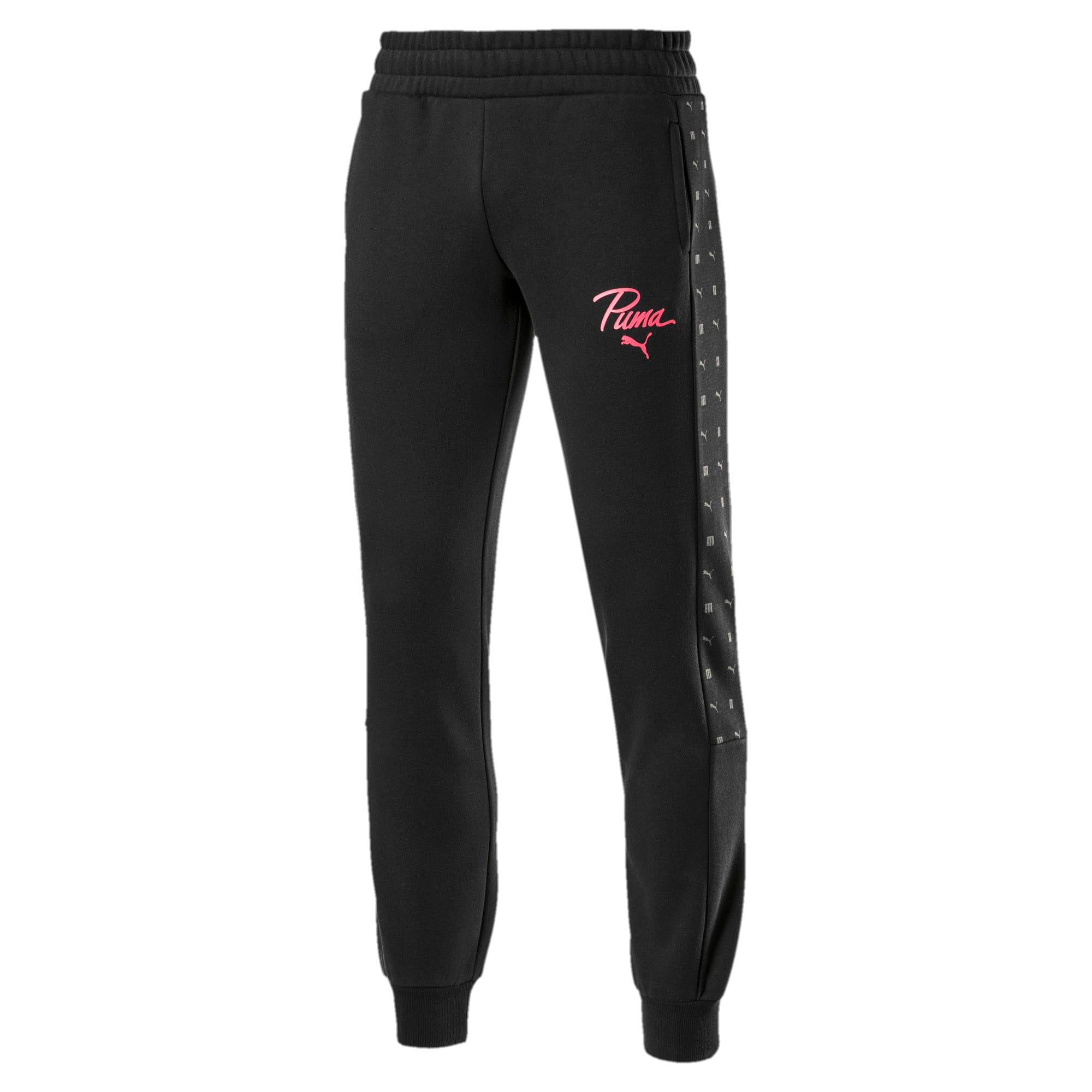 Thumbnail 1 of Logo Pack Graphic Women's Sweatpants, Cotton Black, medium-IND