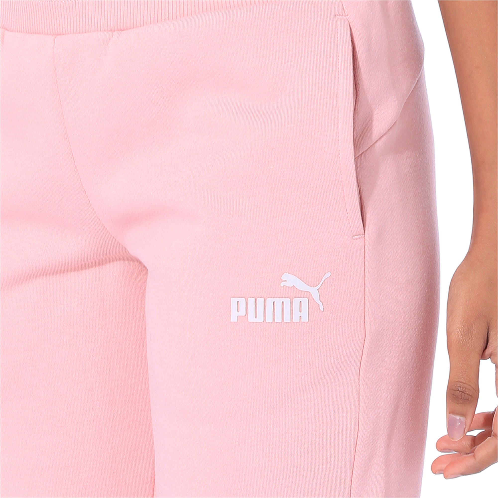 Thumbnail 6 of Essentials Fleece Women's Sweatpants, Bridal Rose, medium-IND
