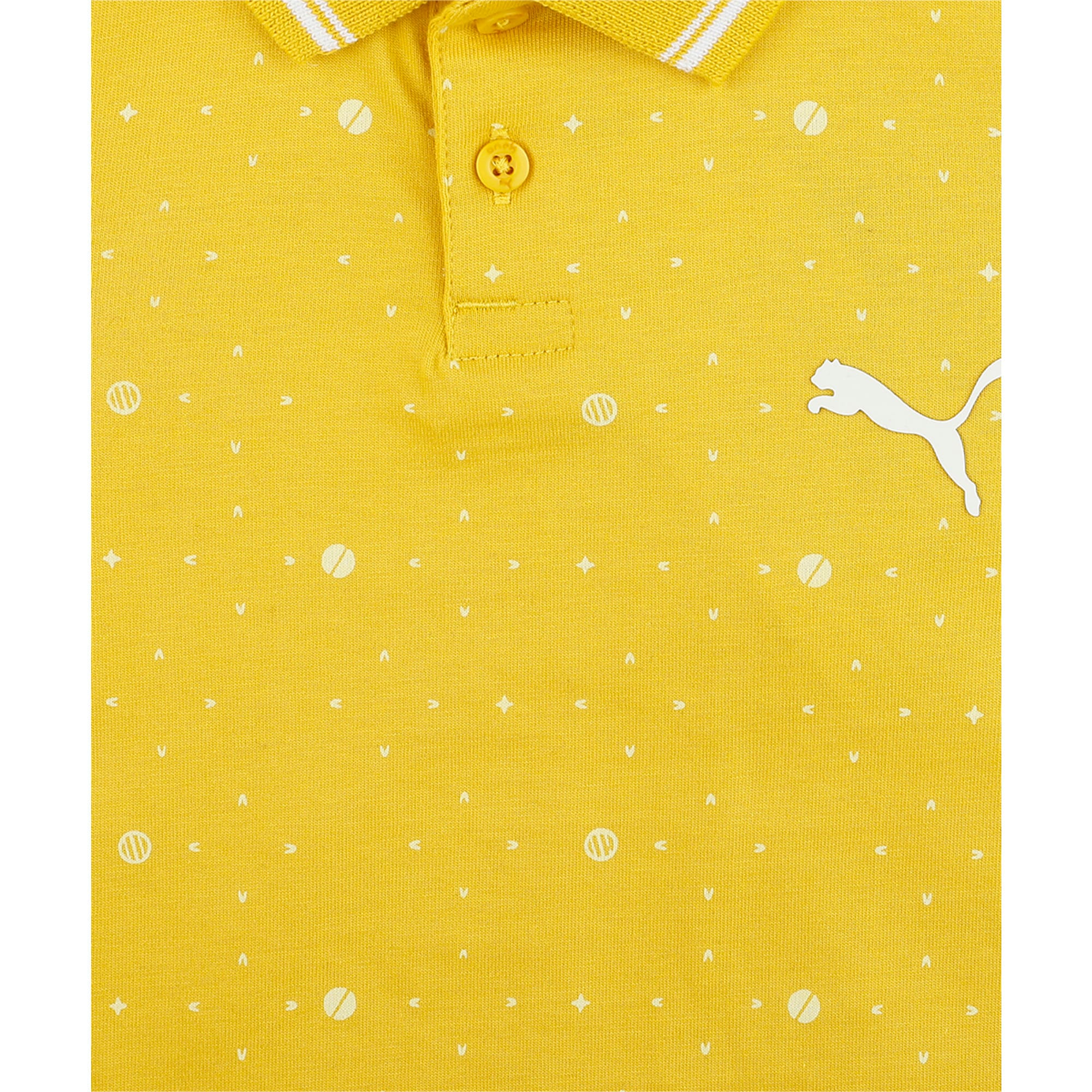 Thumbnail 6 of one8 VK AOP Kids' Printed Polo, Sulphur, medium-IND