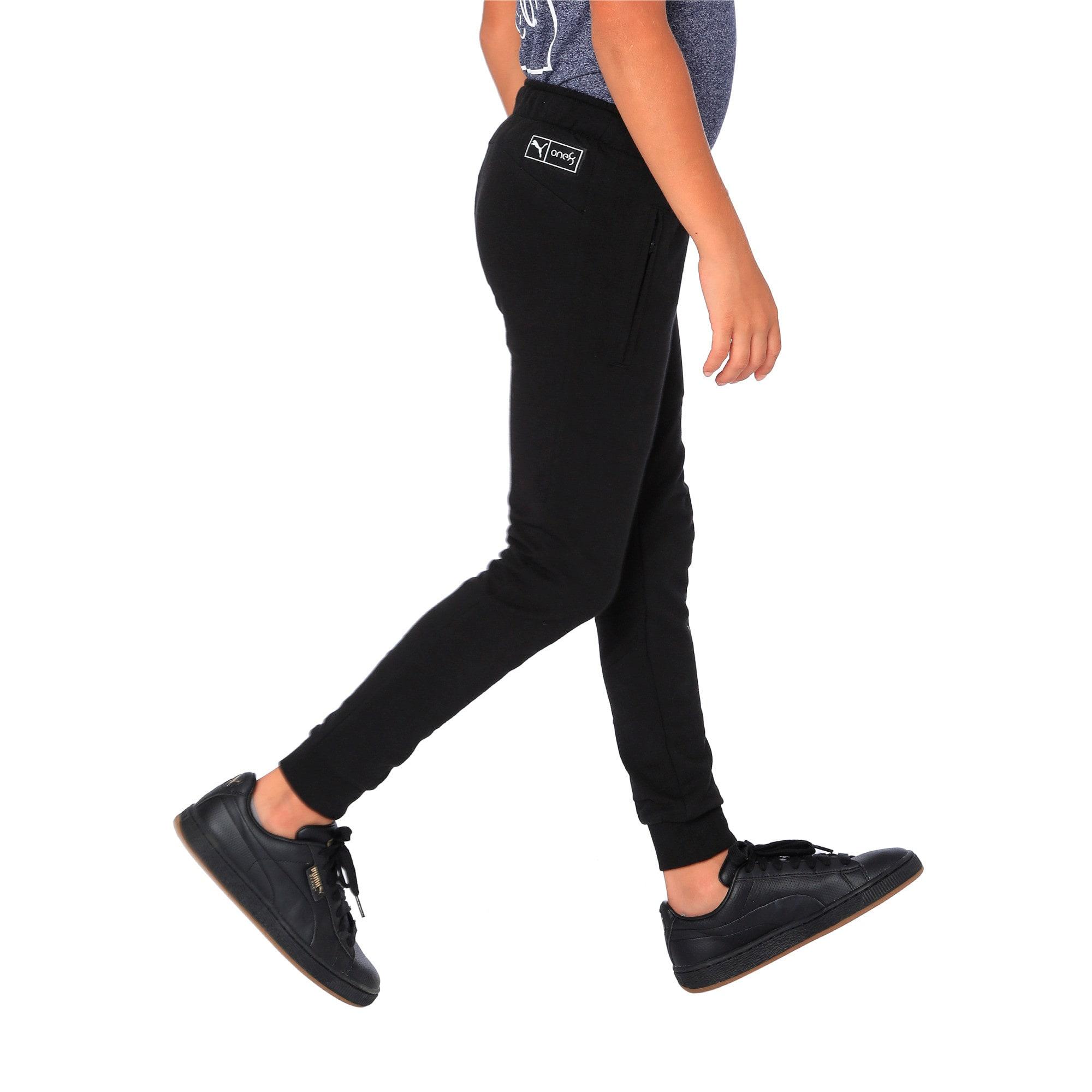 Thumbnail 2 of one8 VK Kids' Sweat Pants, Puma Black, medium-IND
