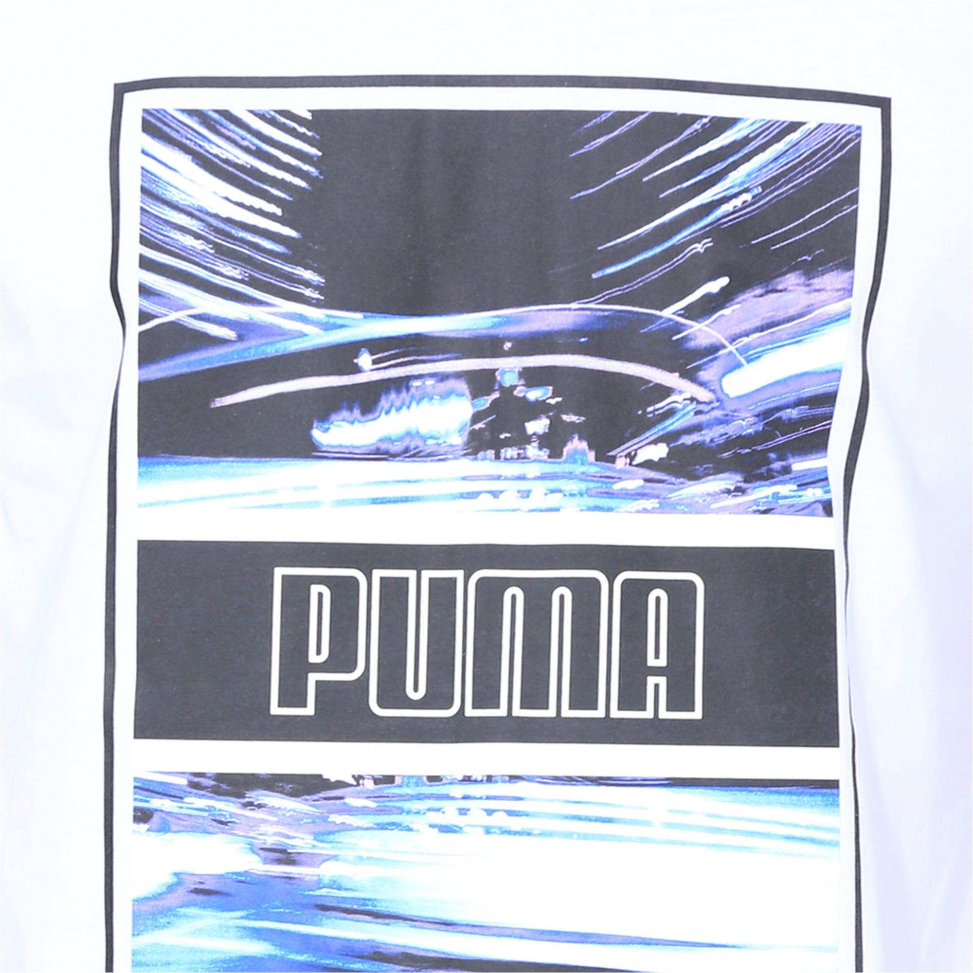 Thumbnail 6 of Light Motion Photo Men's Tee, Puma White, medium-IND