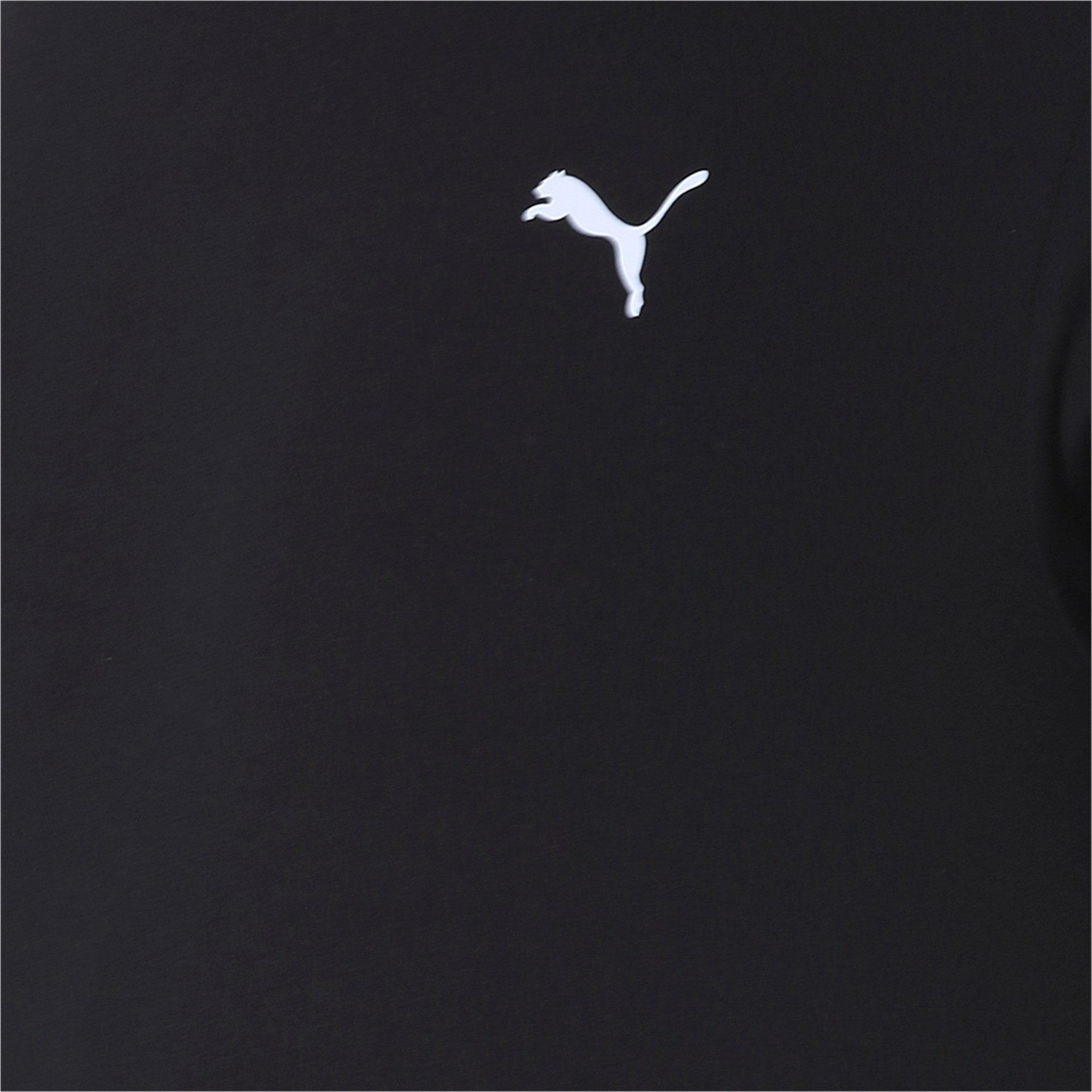 Thumbnail 6 of Men's Essentials Small Logo T-Shirt, Cotton Black, medium-IND