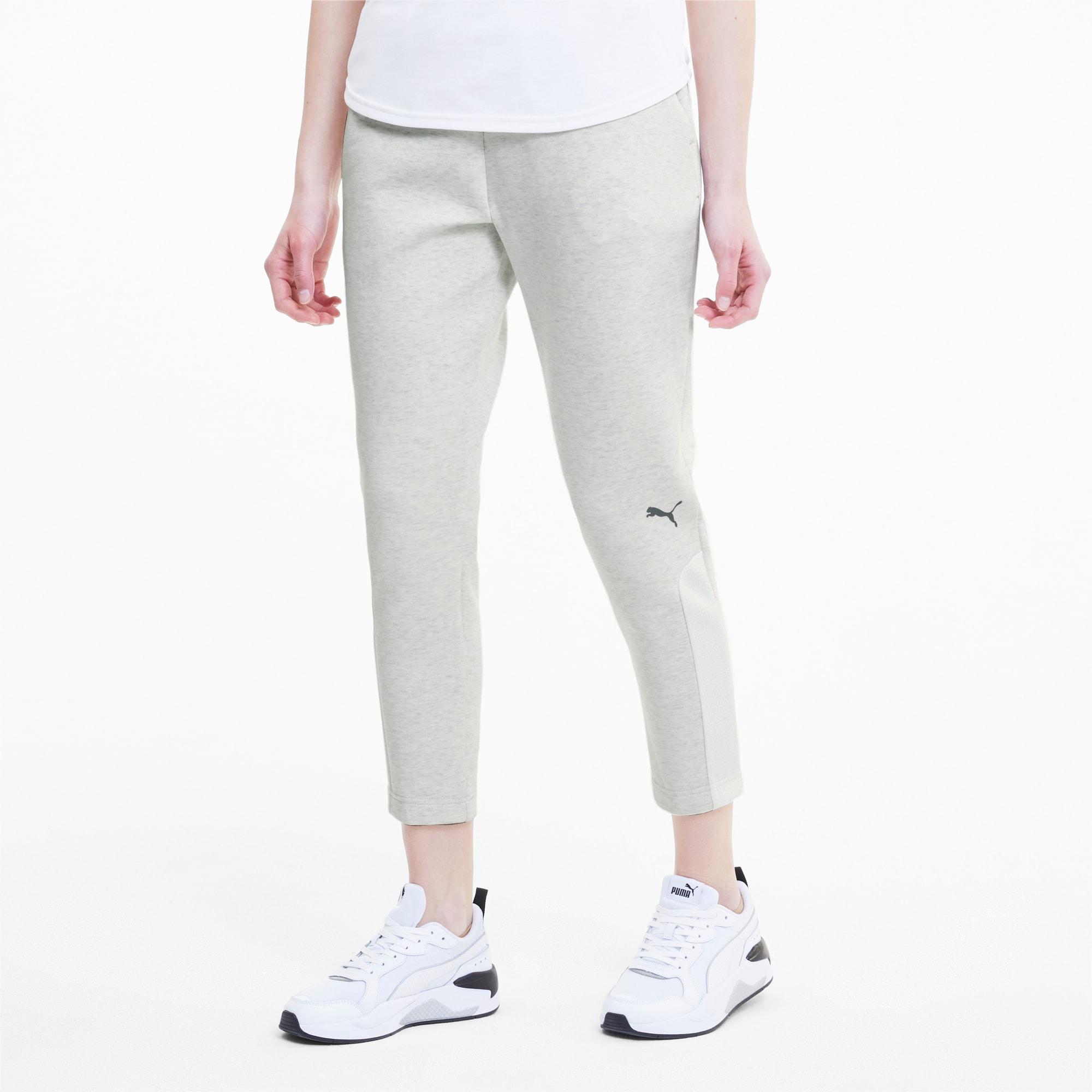 Pantalones De Deporte Para Mujer Evostripe Knitted Puma White Heather Puma Shoes Puma Espana