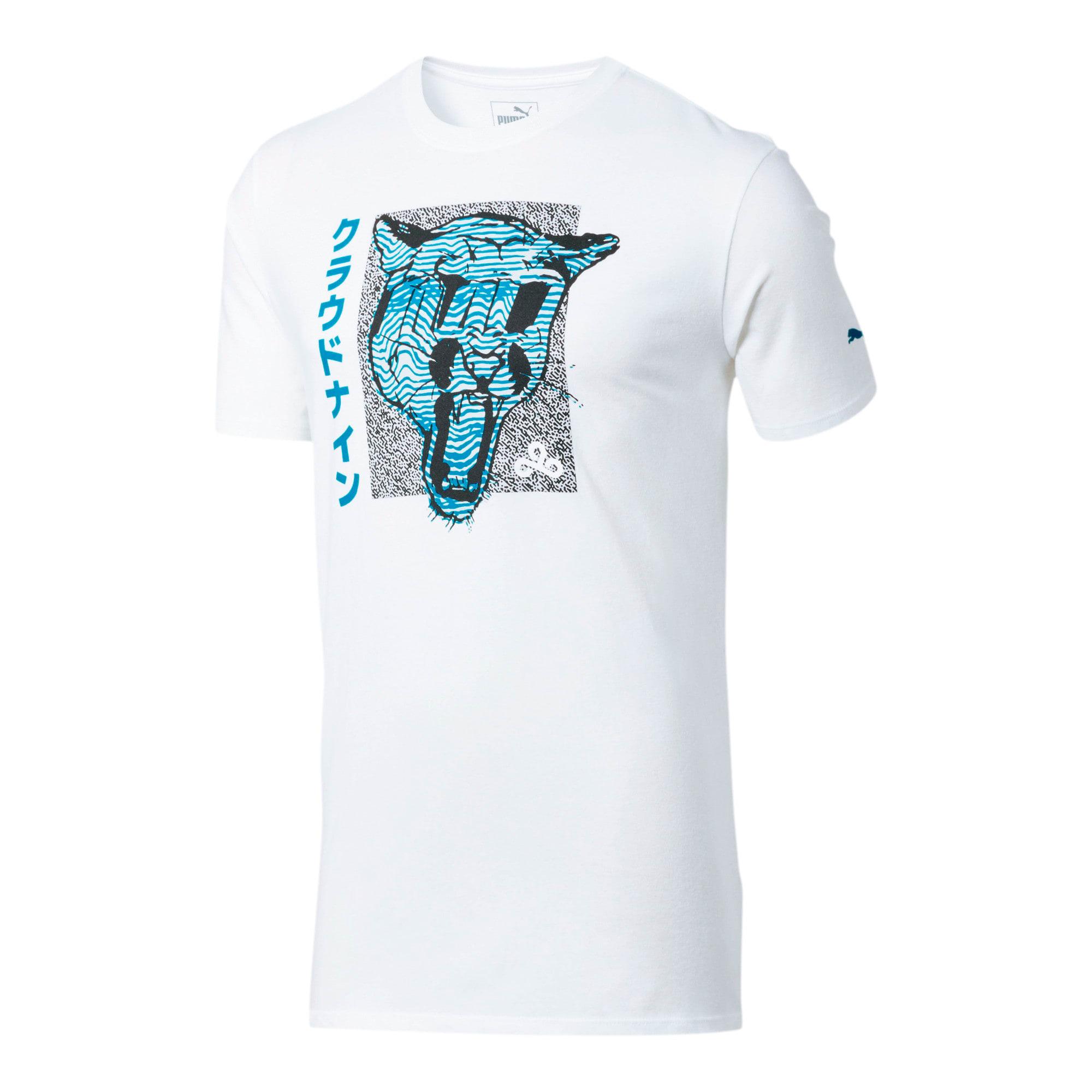 Miniatura 1 de Camiseta PUMA x CLOUD9 Big Cat , Puma White, mediano