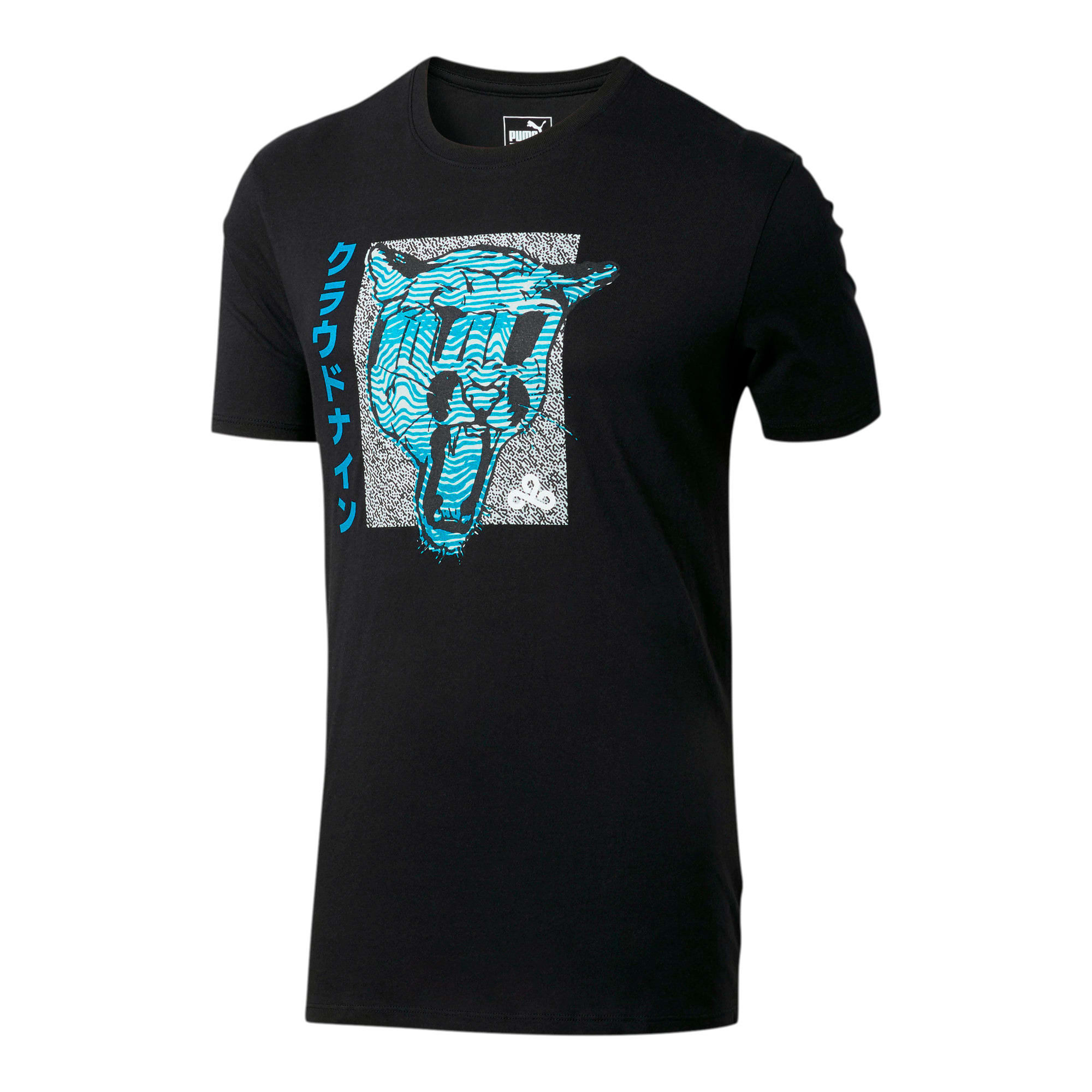 Miniatura 1 de Camiseta PUMA x CLOUD9 Big Cat , Puma Black, mediano