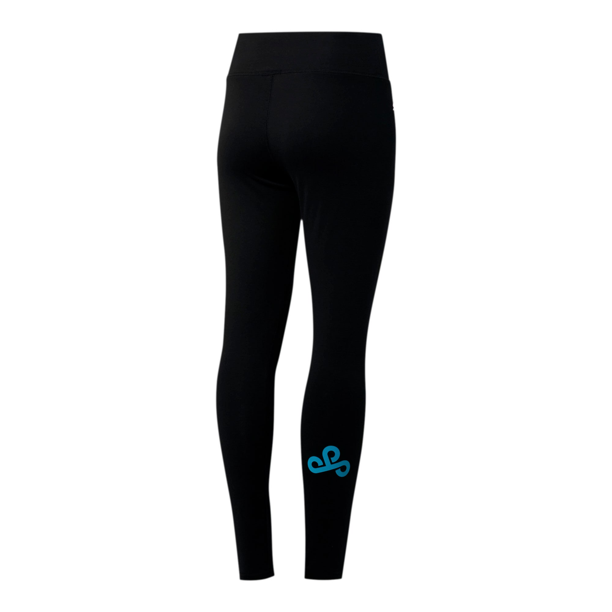 Miniatura 2 de Leggings PUMA x CLOUD9 Wavy Clouds para mujer , Cotton Black, mediano