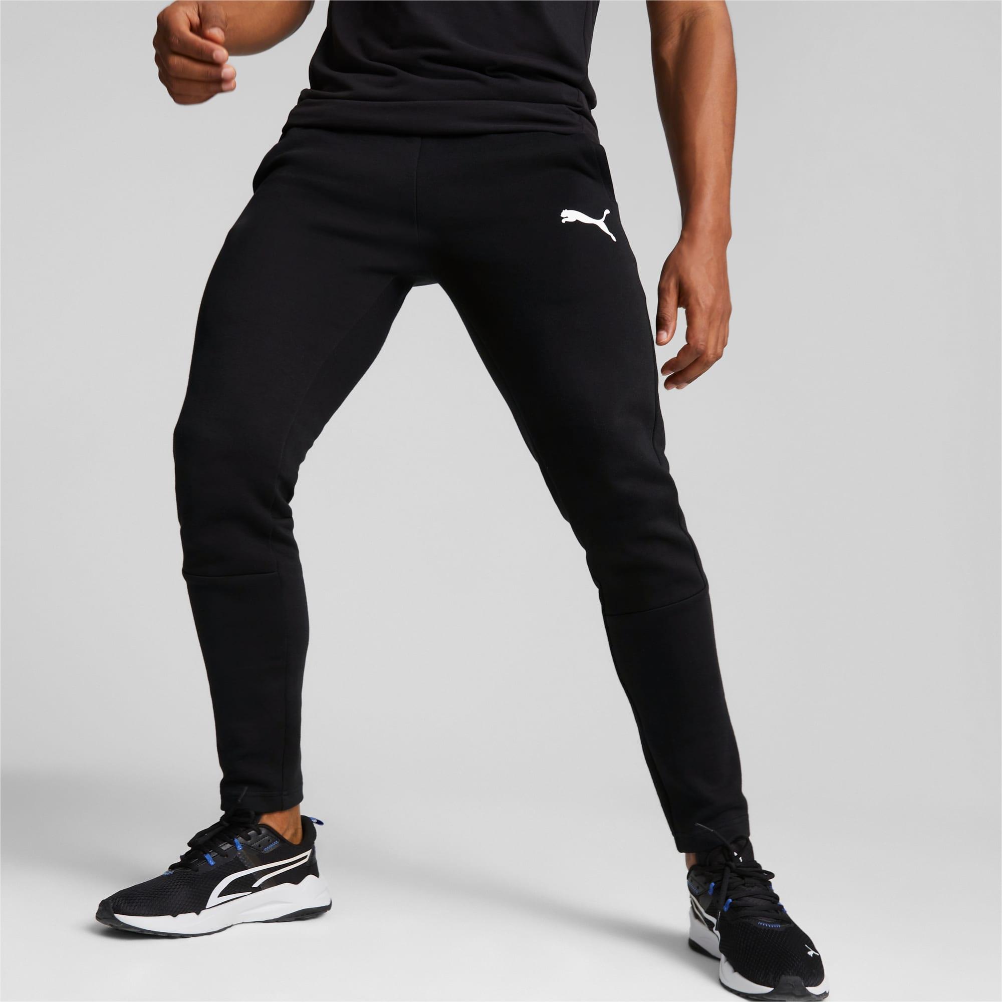 Pantalones Deportivos Evostripe Para Hombre Puma Black Puma Collecion Hombre Puma Espana