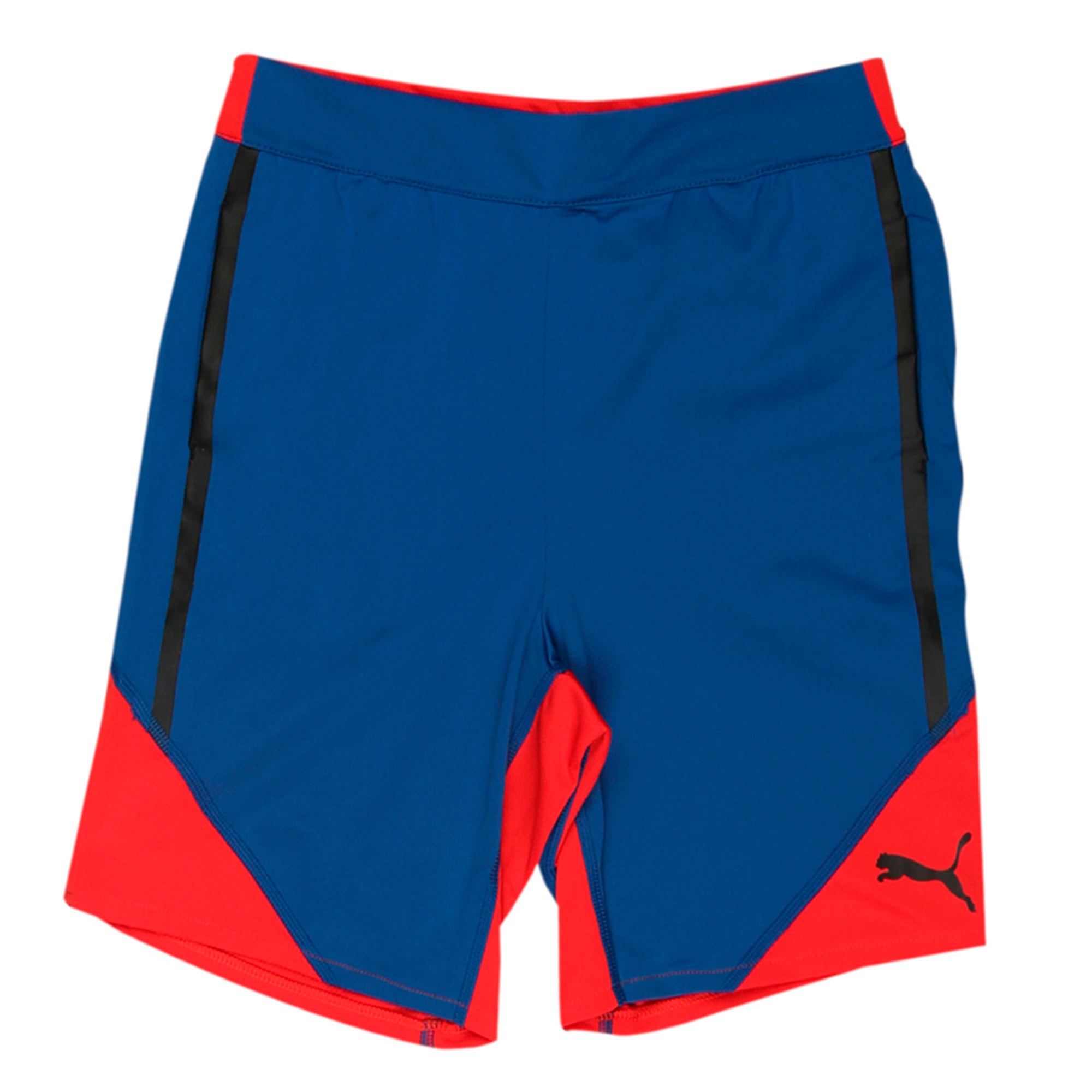 Thumbnail 1 of Active Cell Boys' Poly Shorts, TRUE BLUE, medium-IND