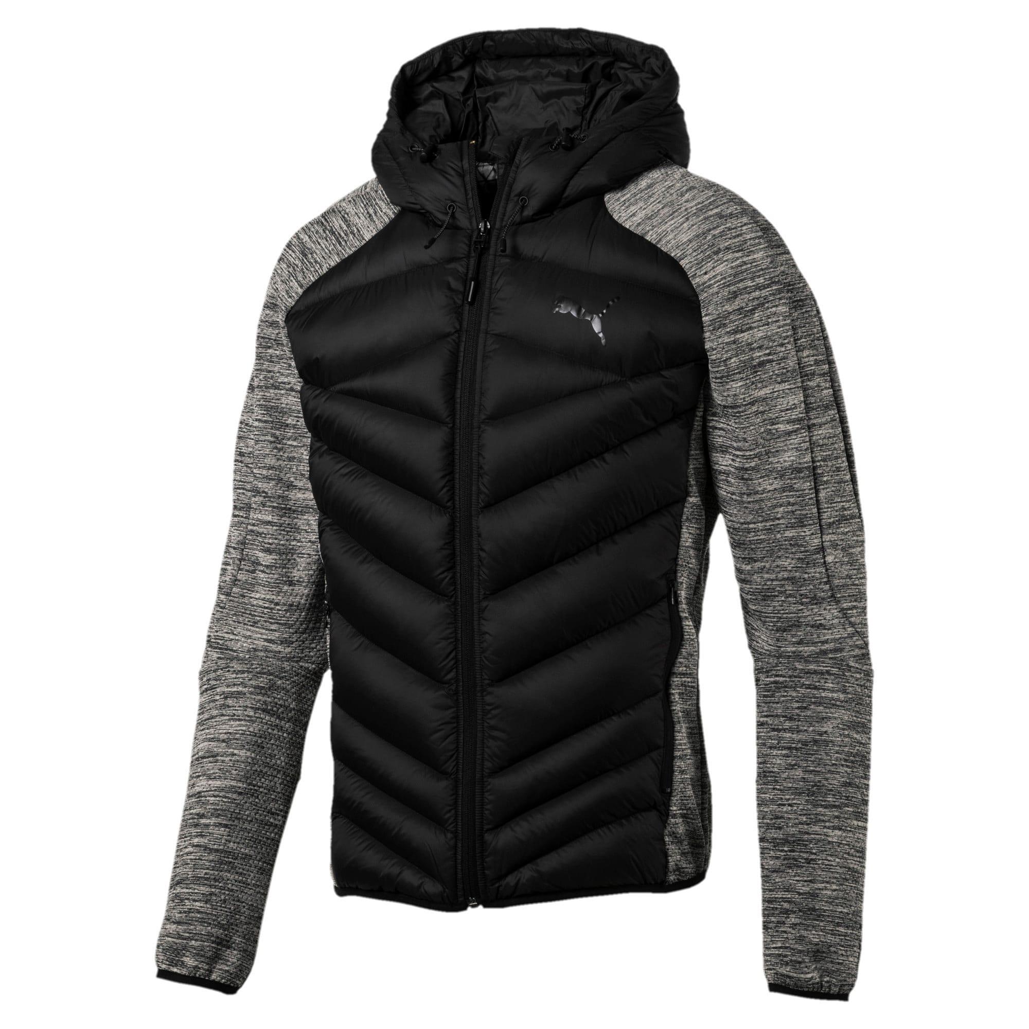 Thumbnail 4 of Double Knit Hybrid 600 Down Men's Jacket, MGH-Puma Black, medium-IND
