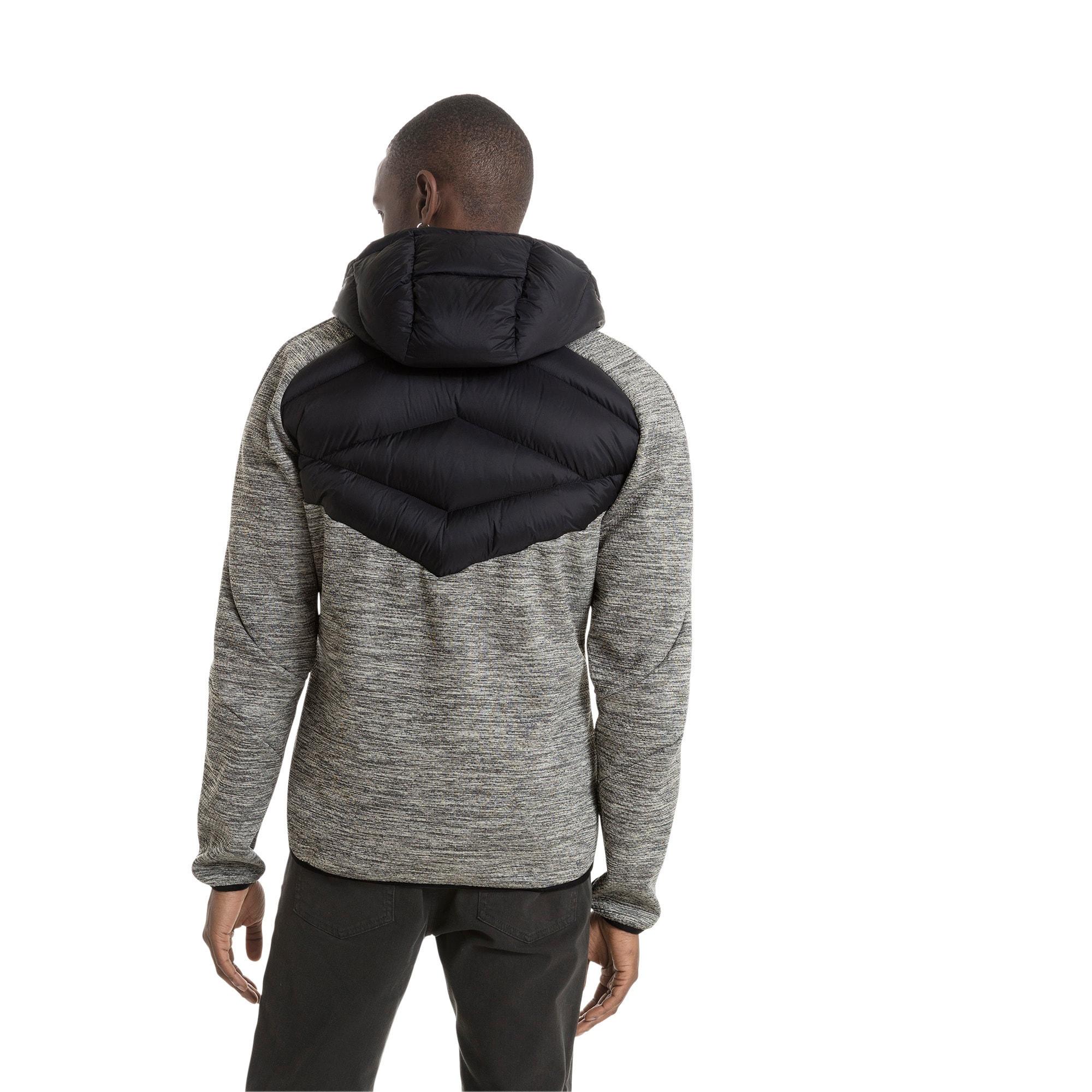 Thumbnail 2 of Double Knit Hybrid 600 Down Men's Jacket, MGH-Puma Black, medium-IND