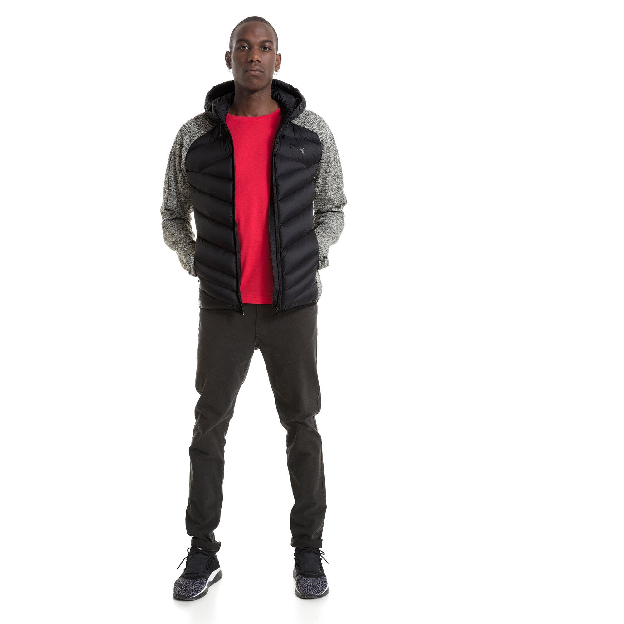 Thumbnail 3 of Double Knit Hybrid 600 Down Men's Jacket, MGH-Puma Black, medium-IND