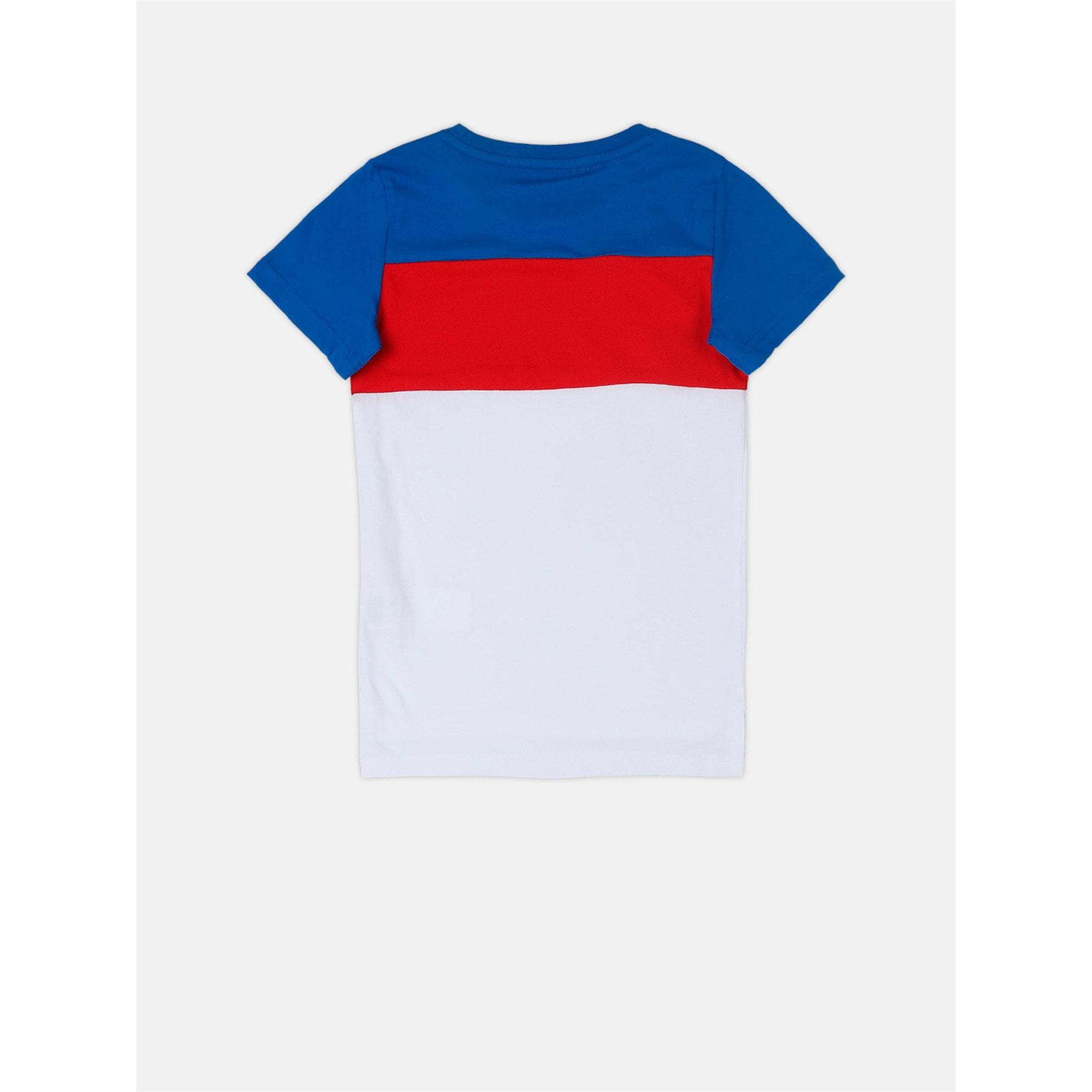 Thumbnail 3 of Boys' T-Shirt, Puma White, medium-IND
